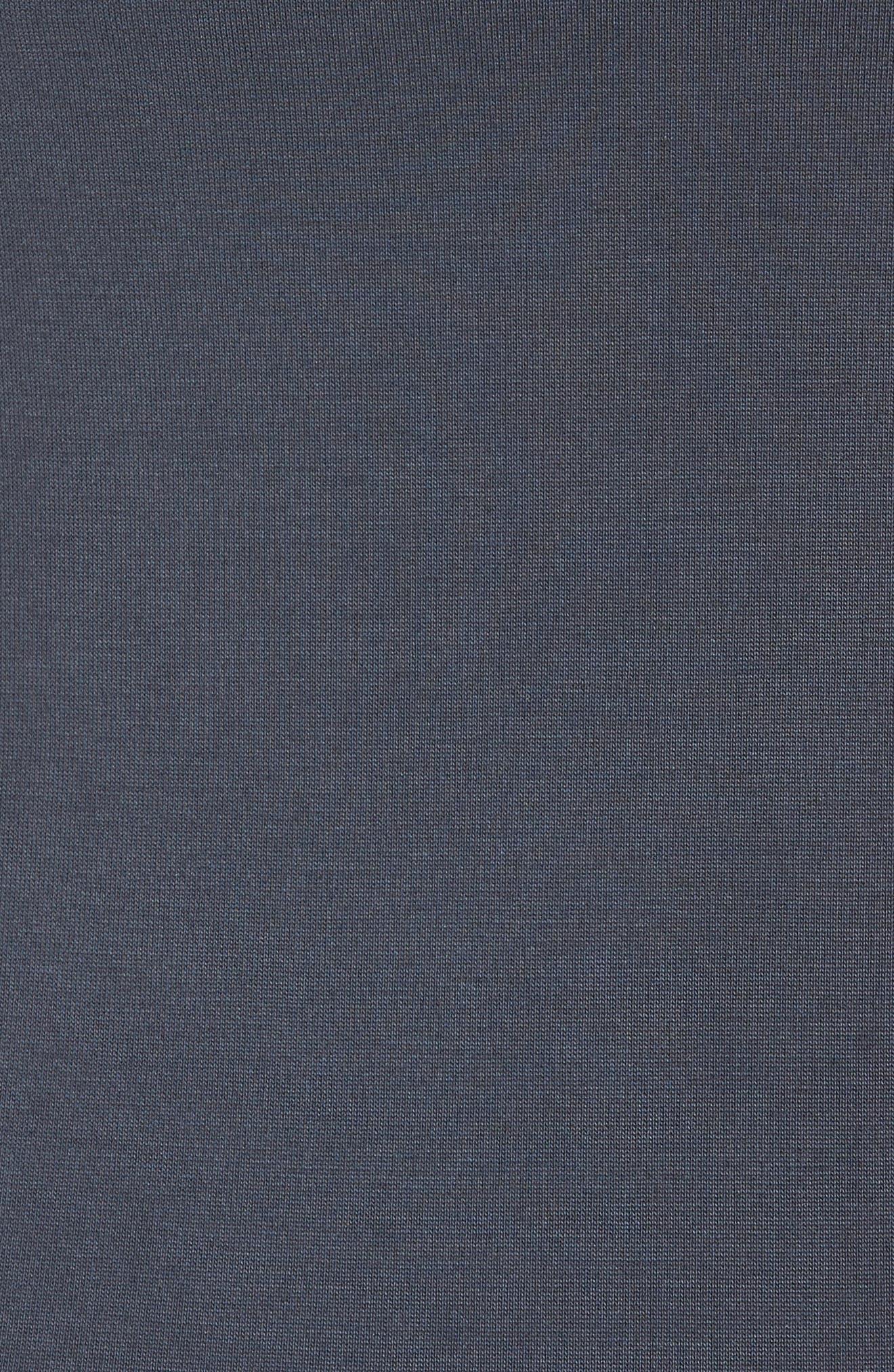 Cutaway Tank Dress,                             Alternate thumbnail 5, color,                             Grey Ebony