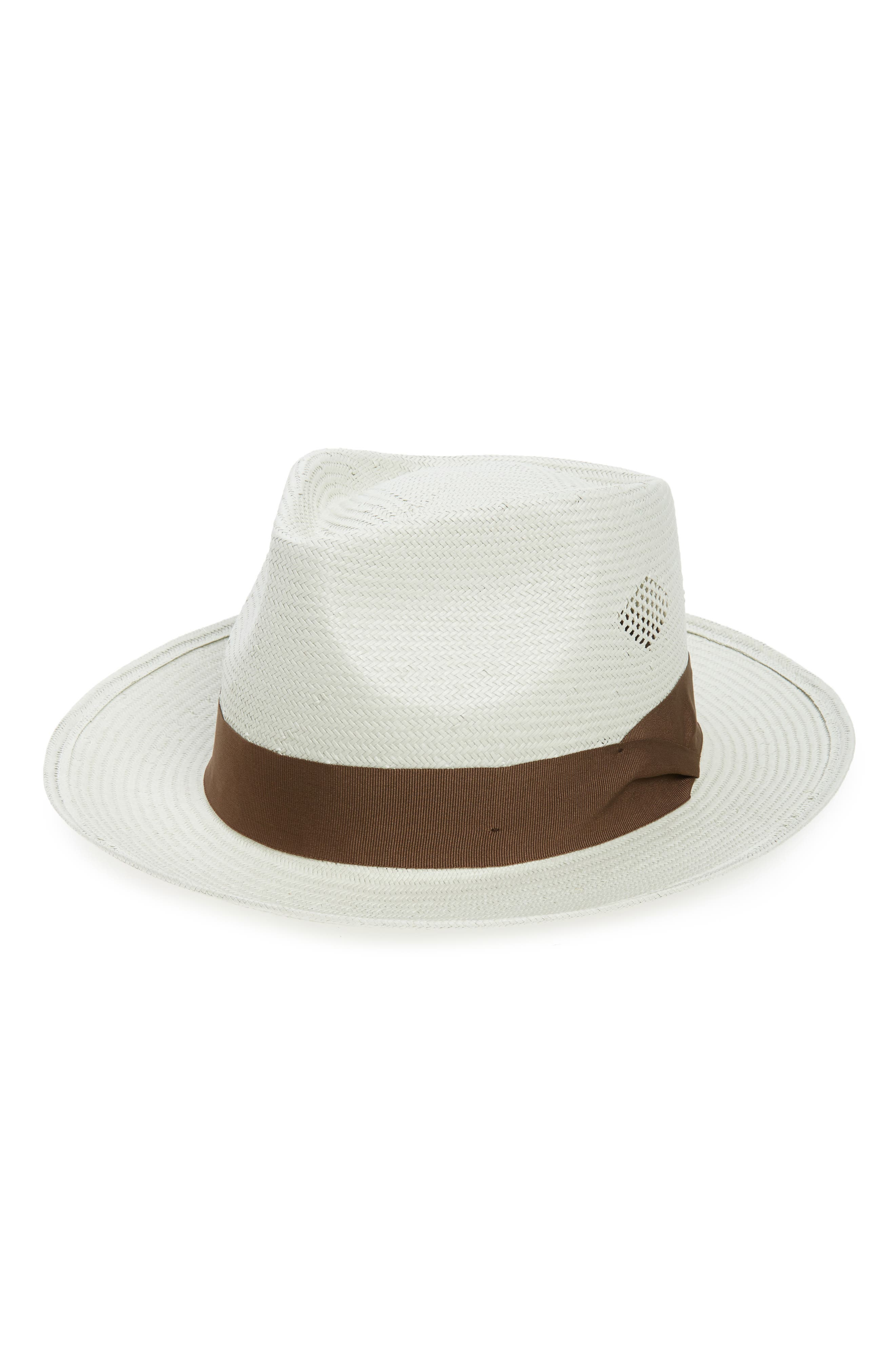 Alternate Image 1 Selected - Brixton Havasu Straw Fedora