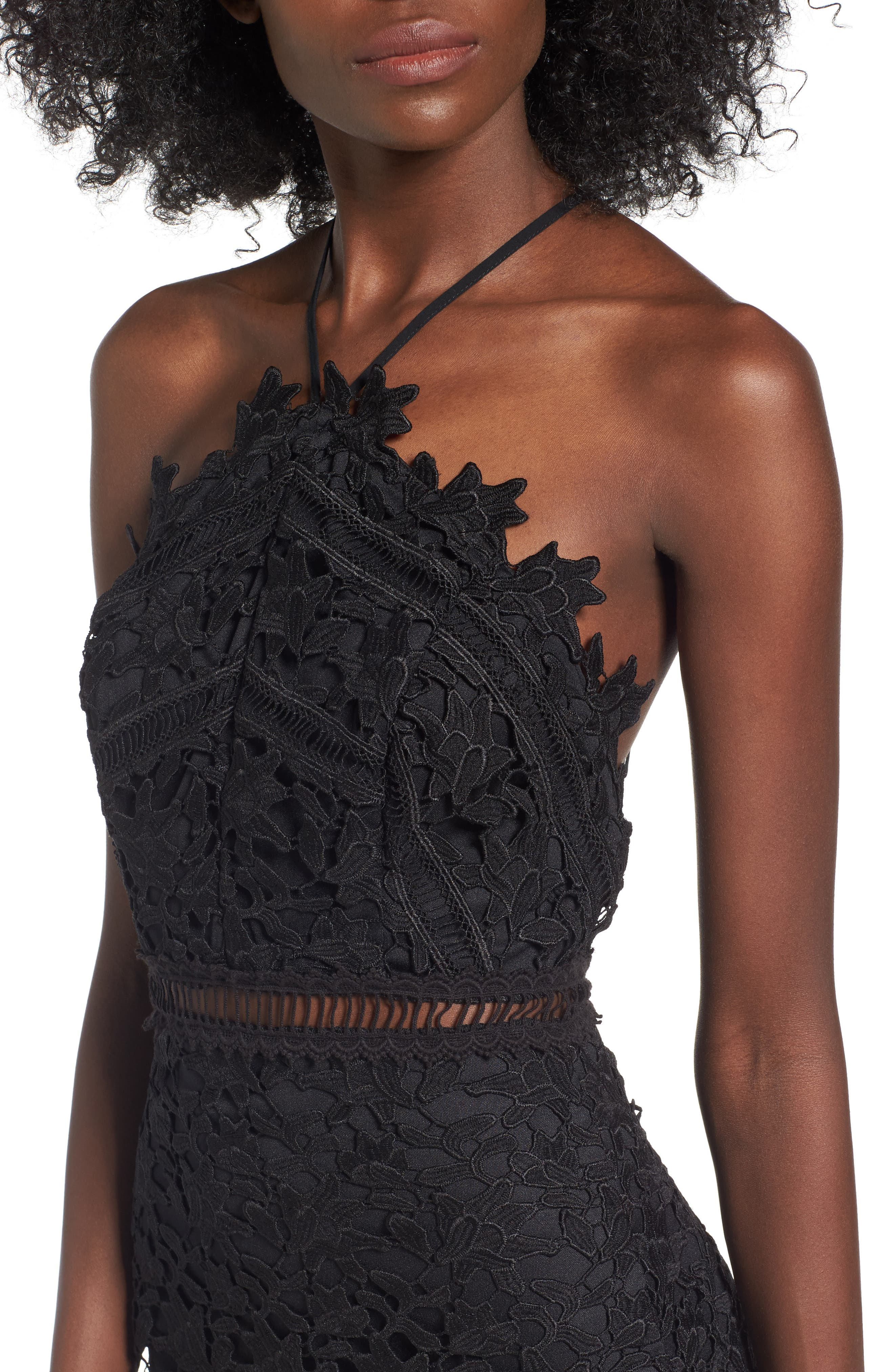 Alternate Image 4  - ASTR the Label Lace Body-Con Dress