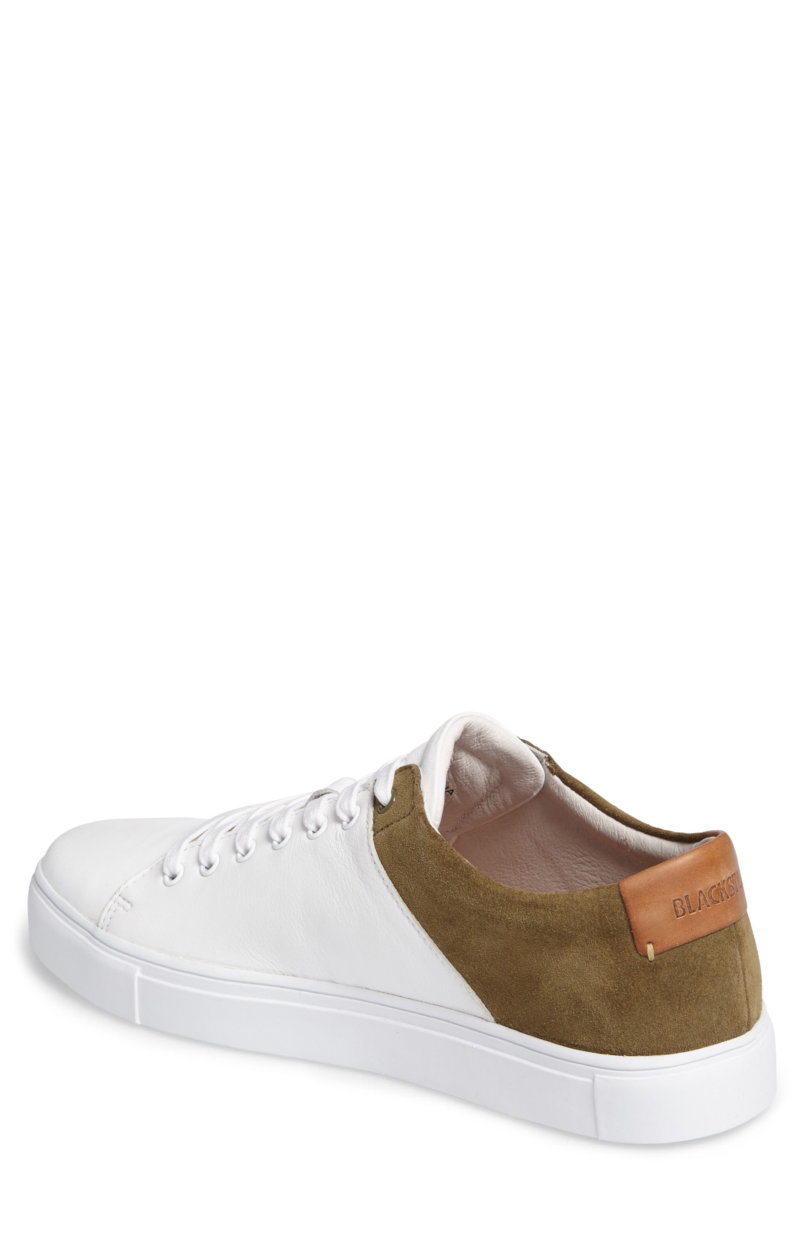 NM03 Two-Tone Sneaker,                             Alternate thumbnail 2, color,                             White/ Olive Leather