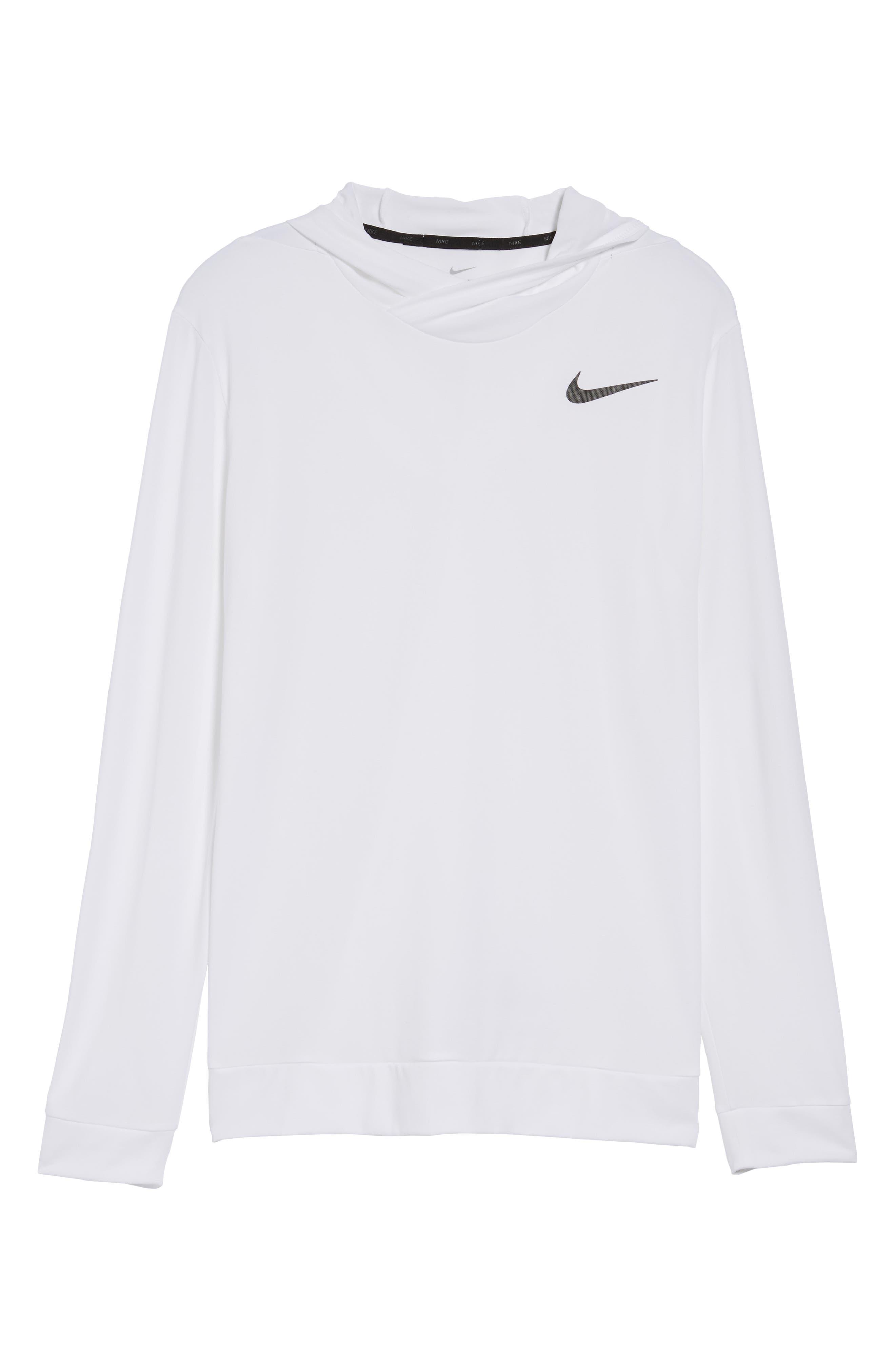 Alternate Image 6  - Nike Hyper Dry Regular Fit Training Hoodie
