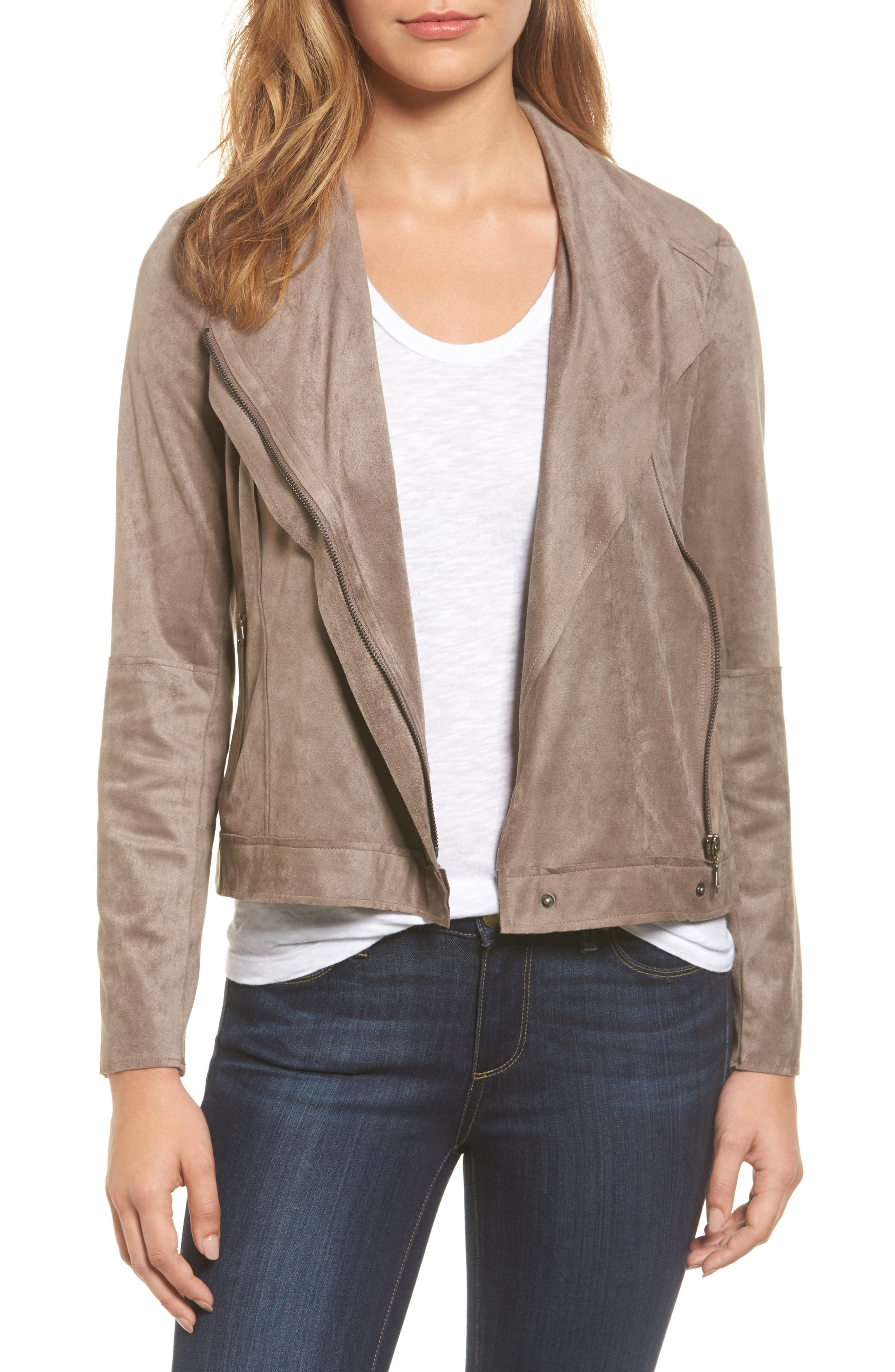 KUT from the Kloth Mai Faux Suede Jacket
