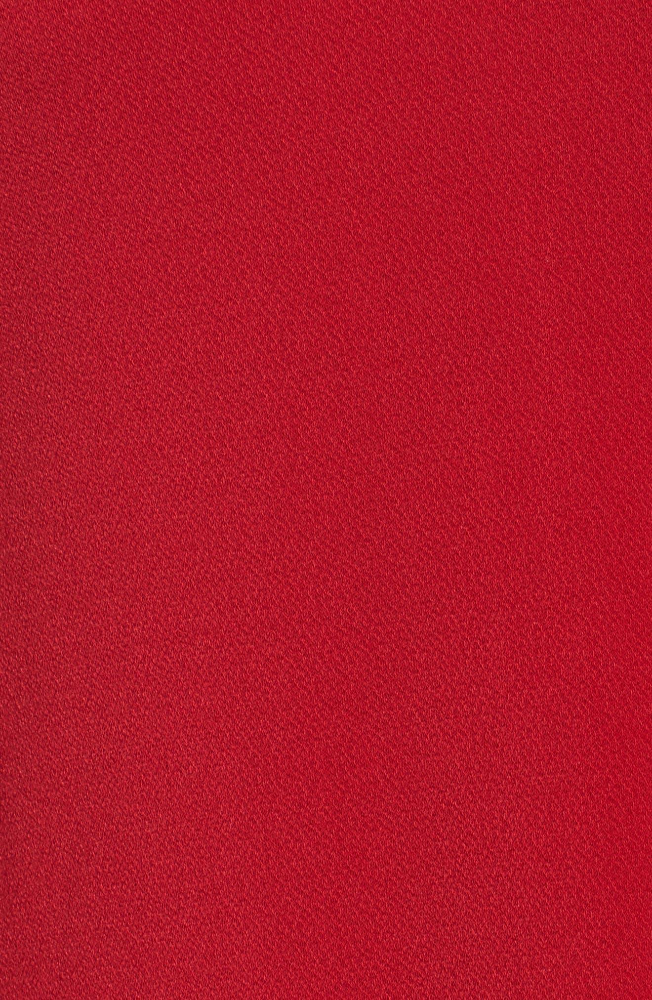 Alternate Image 5  - Gabby Skye Bell Sleeve A-Line Choker Dress (Plus Size)