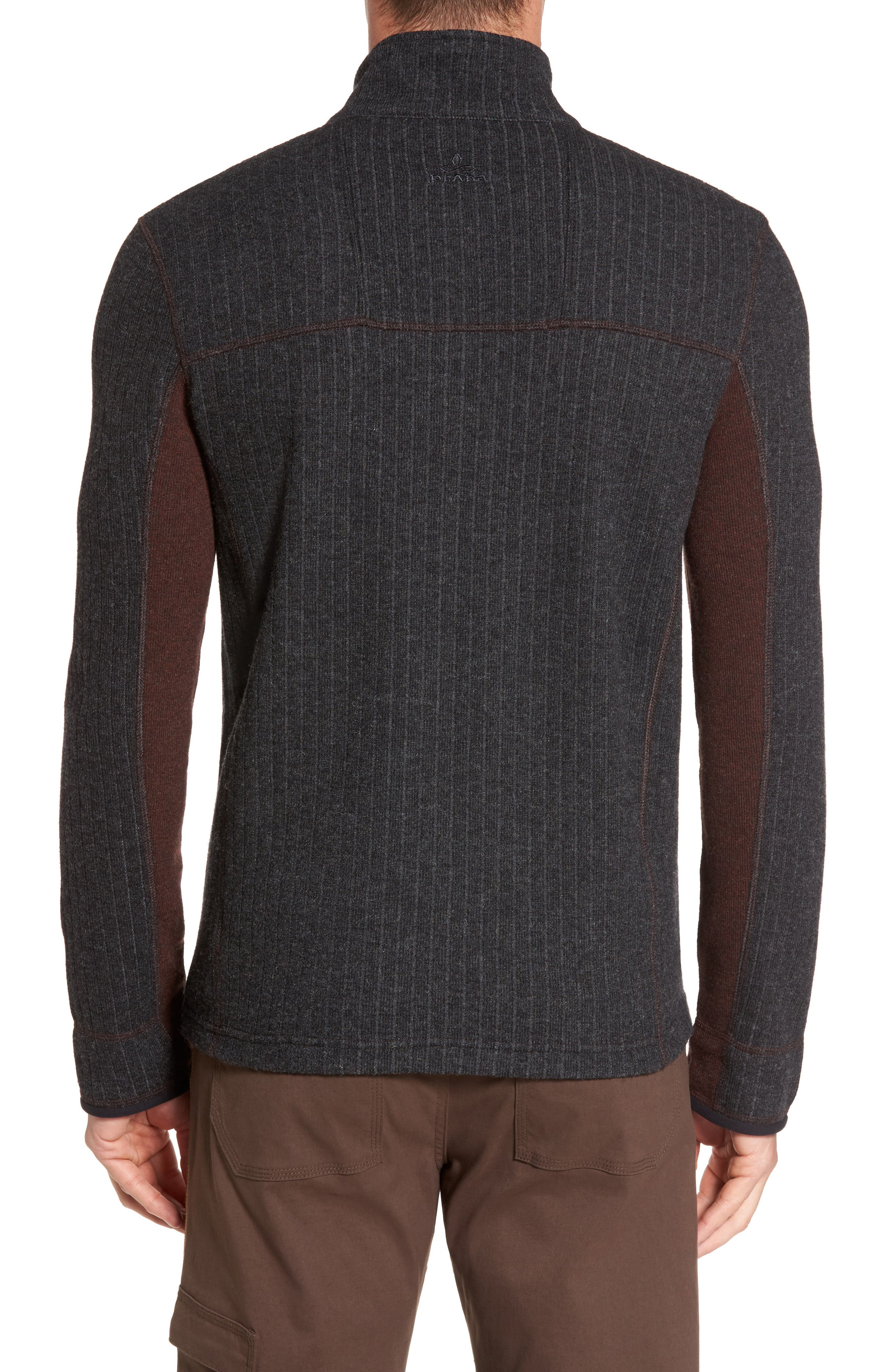 Wentworth Quarter Zip Pullover,                             Alternate thumbnail 2, color,                             Cocoa
