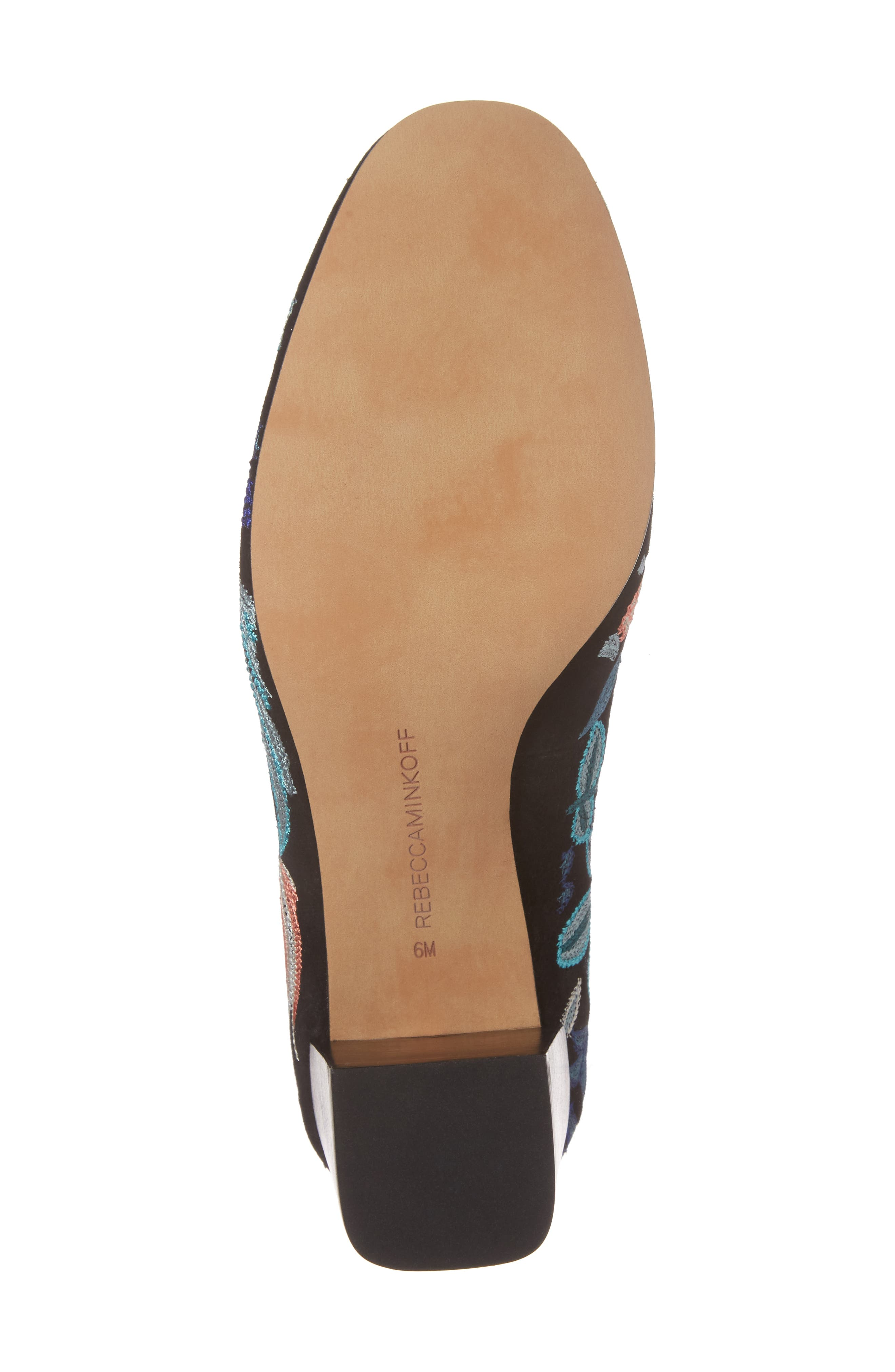 Alternate Image 6  - Rebecca Minkoff Bridget Floral Ankle Strap Pump (Women)