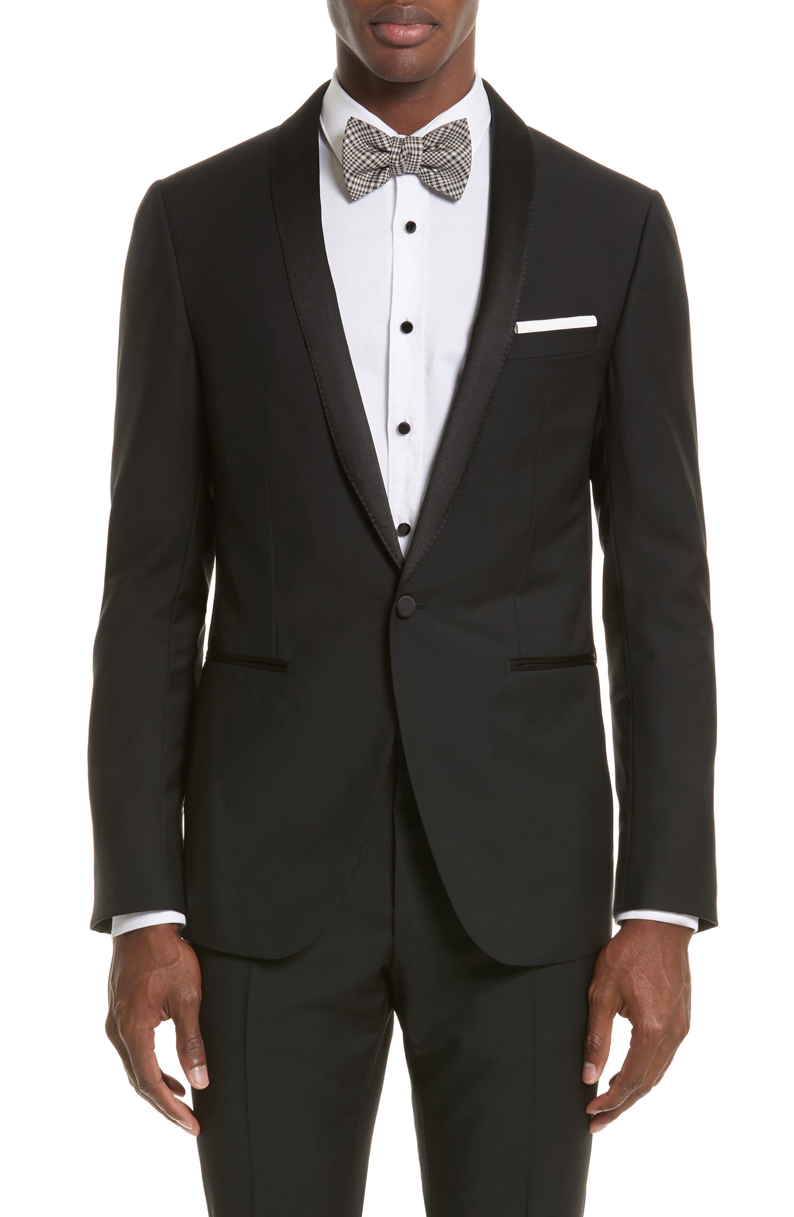 Alternate Image 5  - Lanvin Shawl Lapel Wool Blend Tuxedo