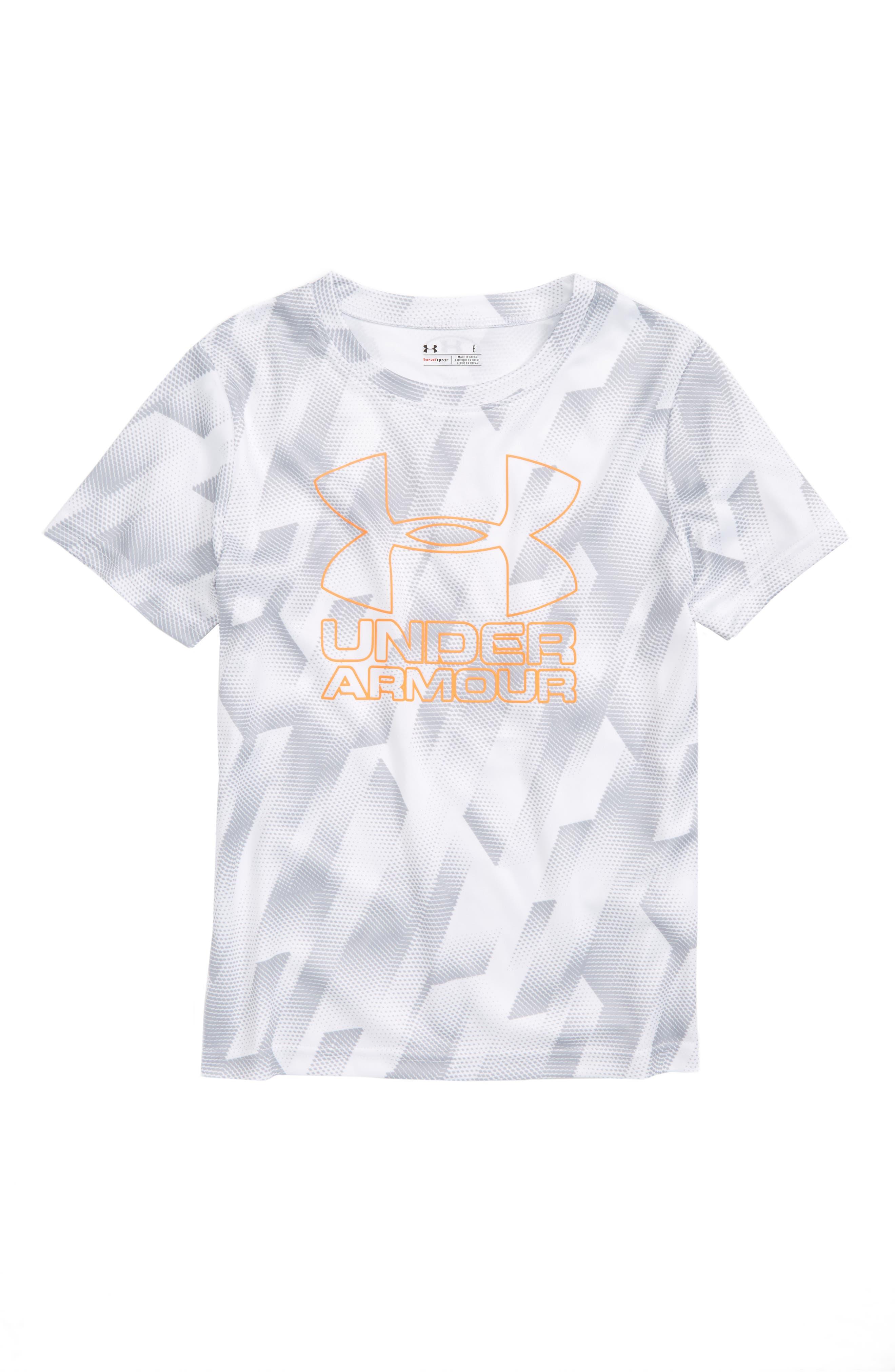 UNDER ARMOUR Sandstorm HeatGear<sup>®</sup> Logo Shirt