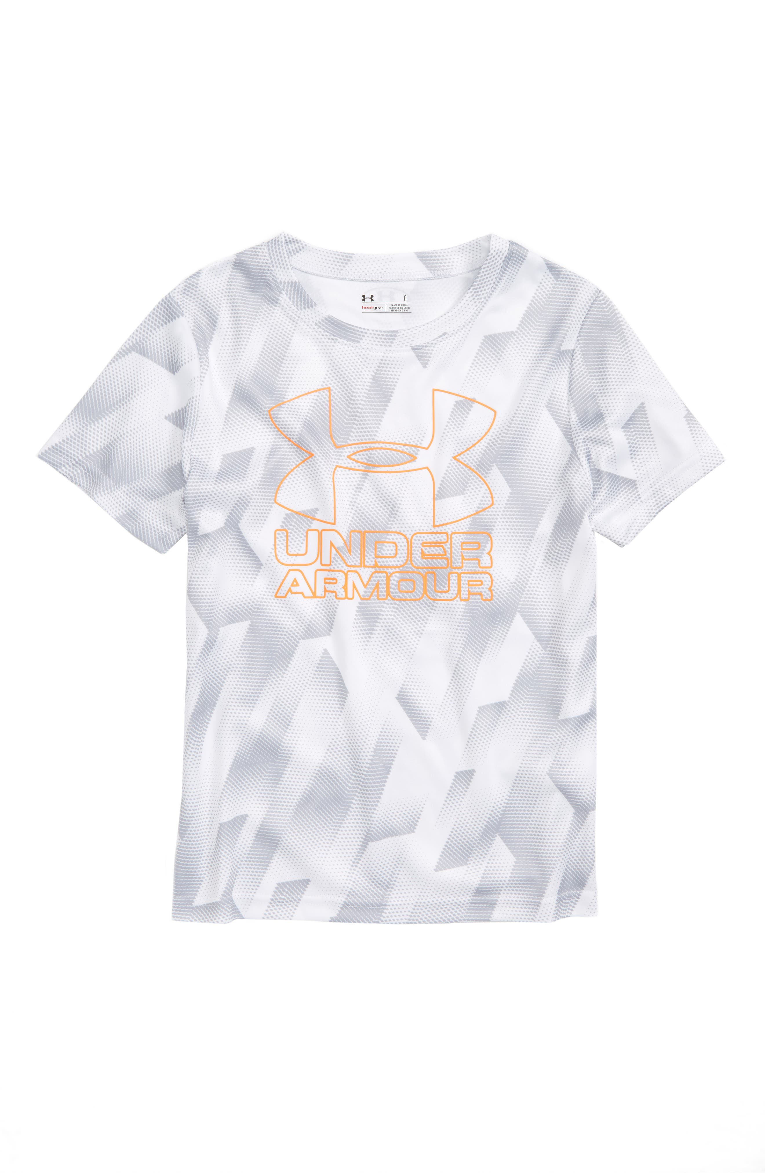 Under Armour Sandstorm HeatGear® Logo Shirt (Toddler Boys & Little Boys)