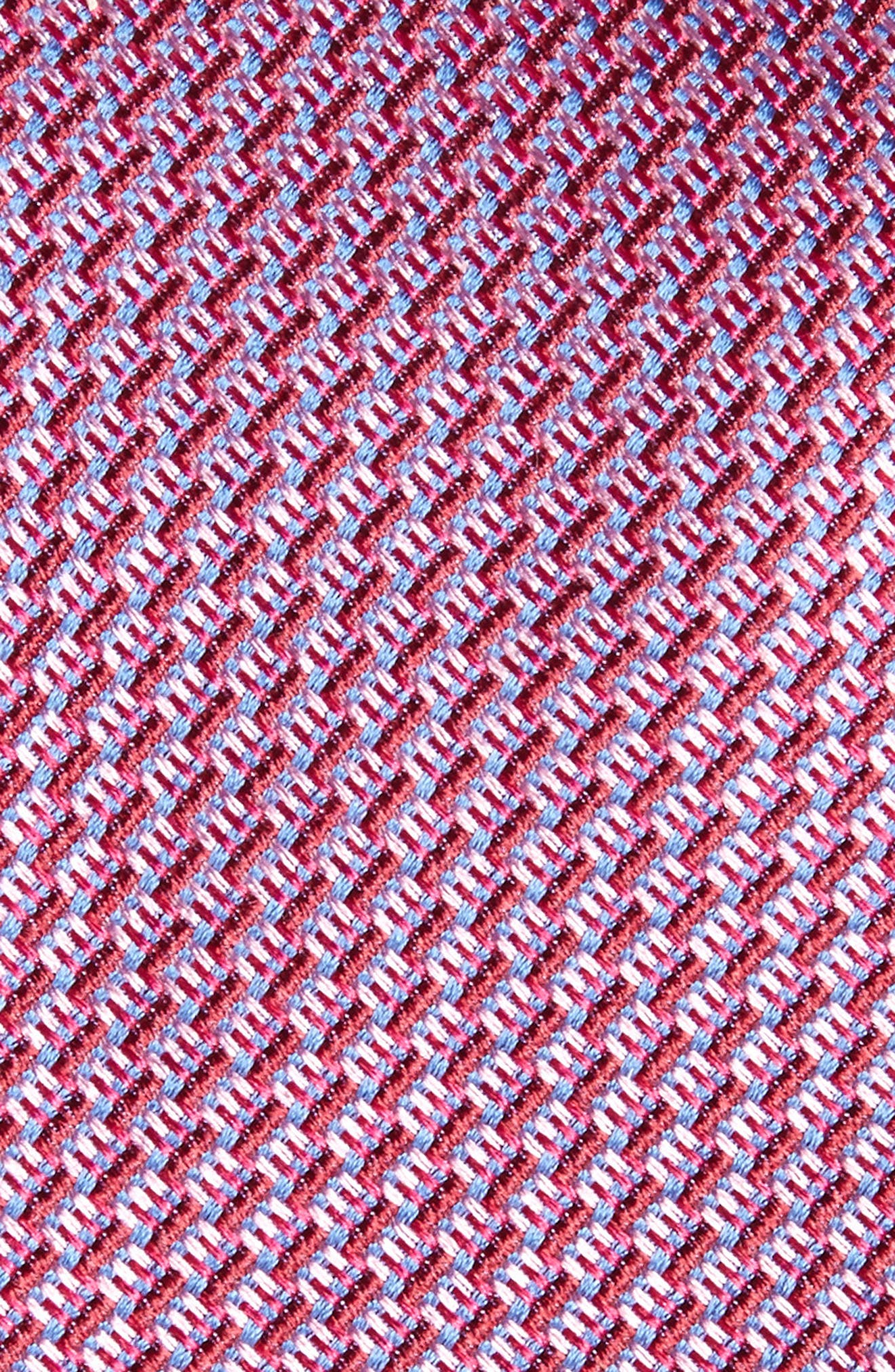Alternate Image 2  - Nordstrom Men's Shop Tech Woven Silk Tie (X-Long)