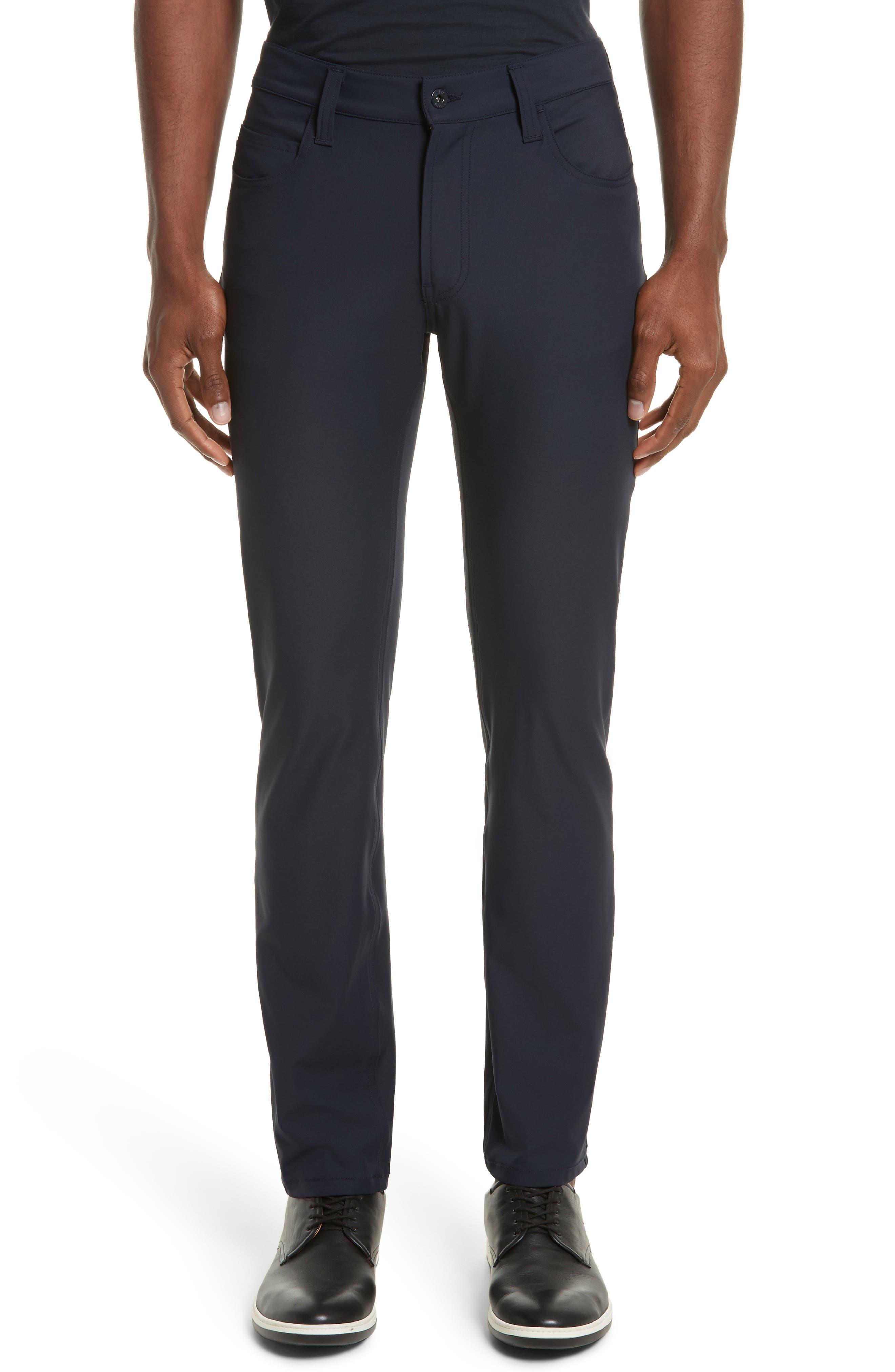 Emporio Armani AJ Straight Leg Five-Pocket Pants