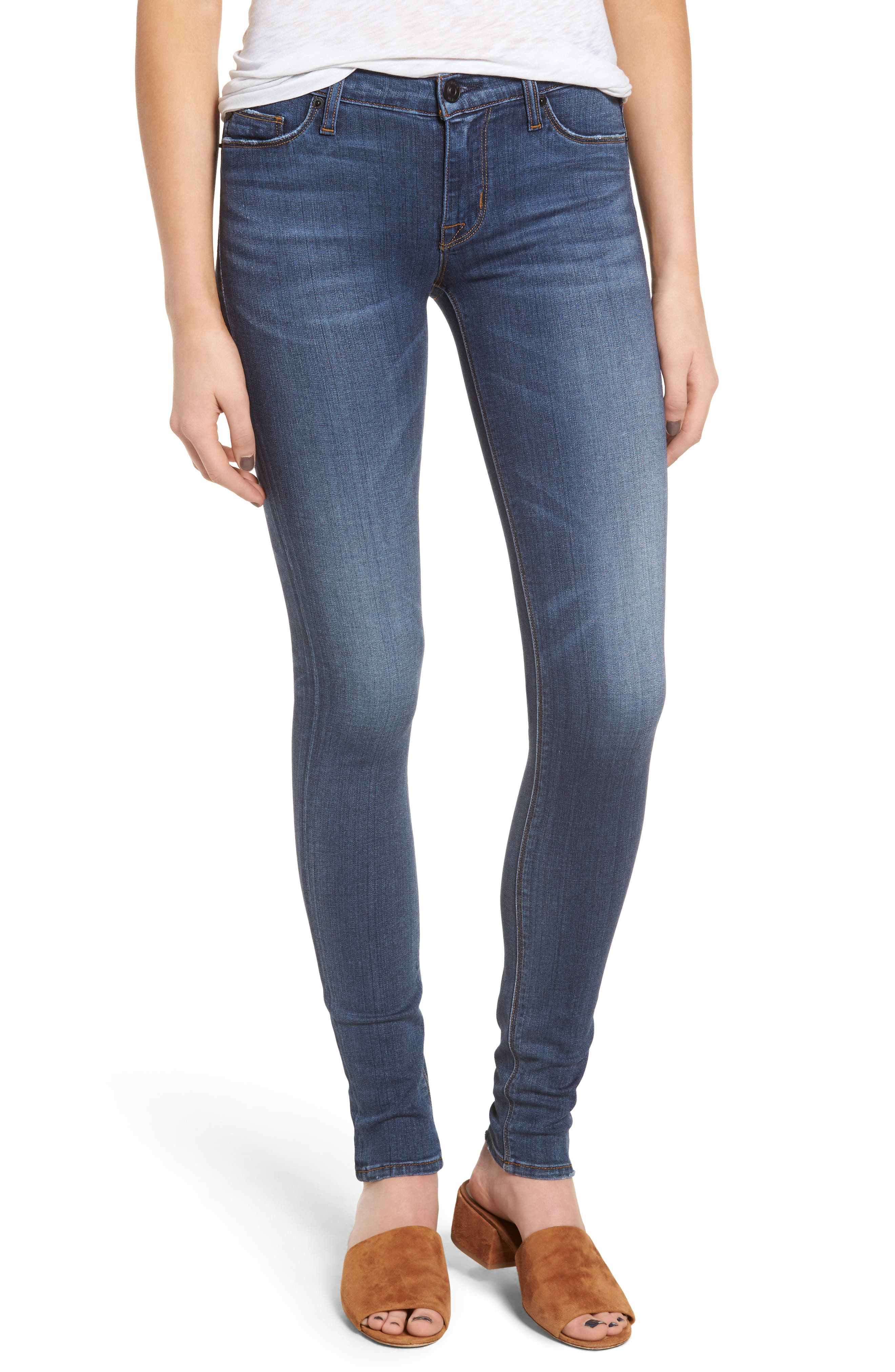 'Krista' Super Skinny Jeans,                             Main thumbnail 1, color,                             Verve