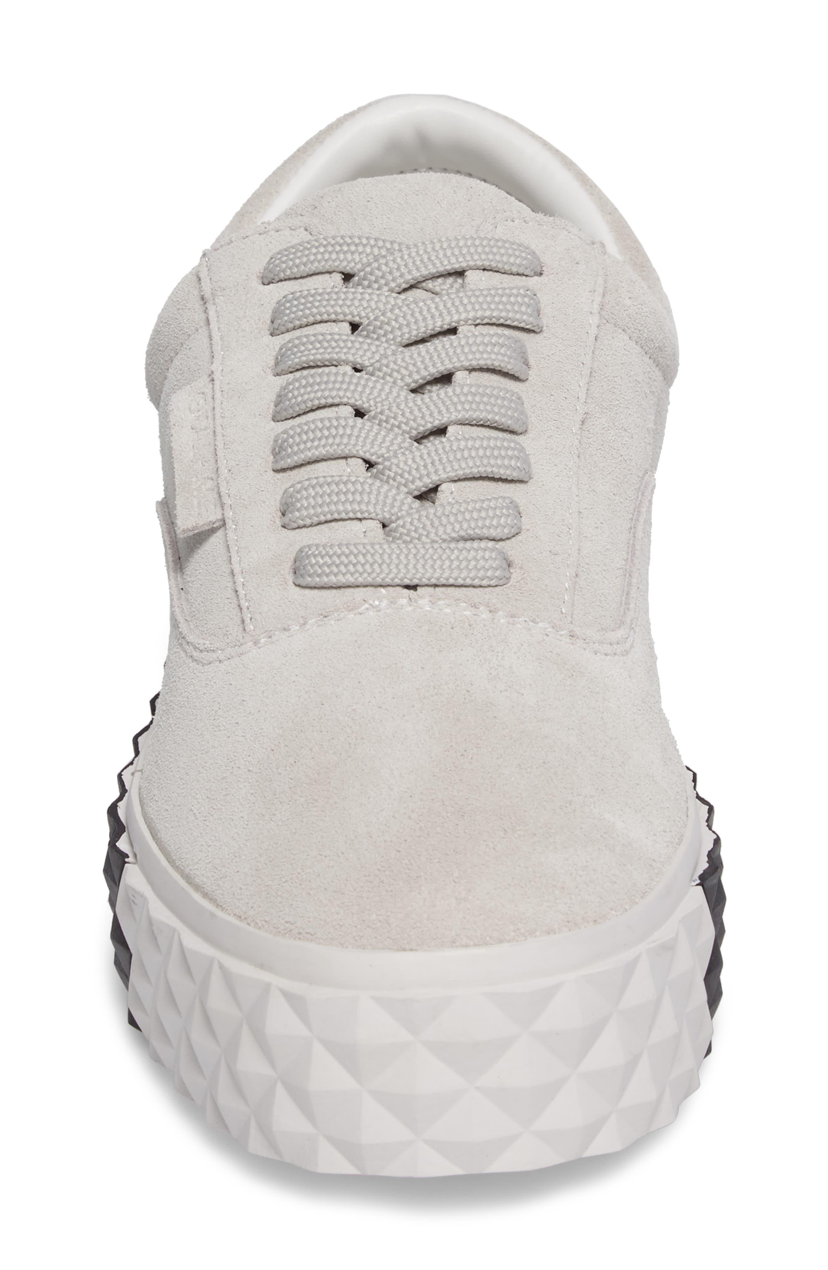 Reign Platform Sneaker,                             Alternate thumbnail 4, color,                             White