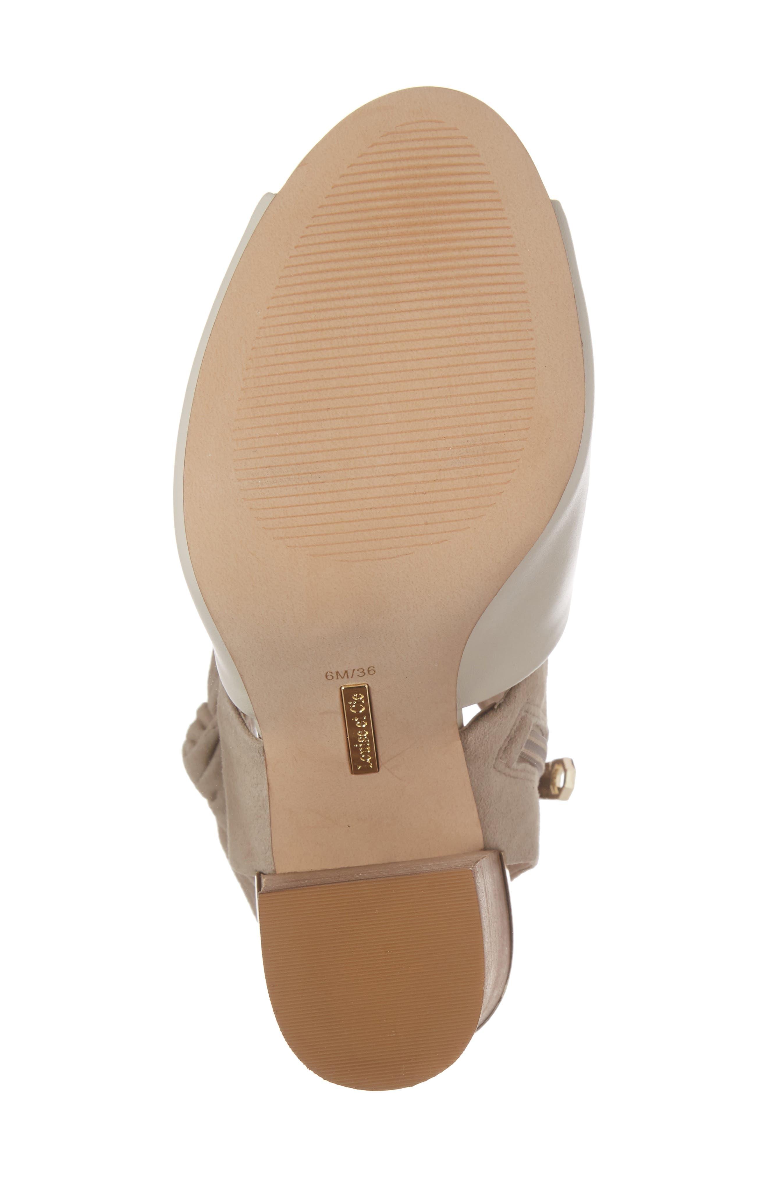 Alternate Image 6  - Louise et Cit Katlin Block Heel Sandal (Women)