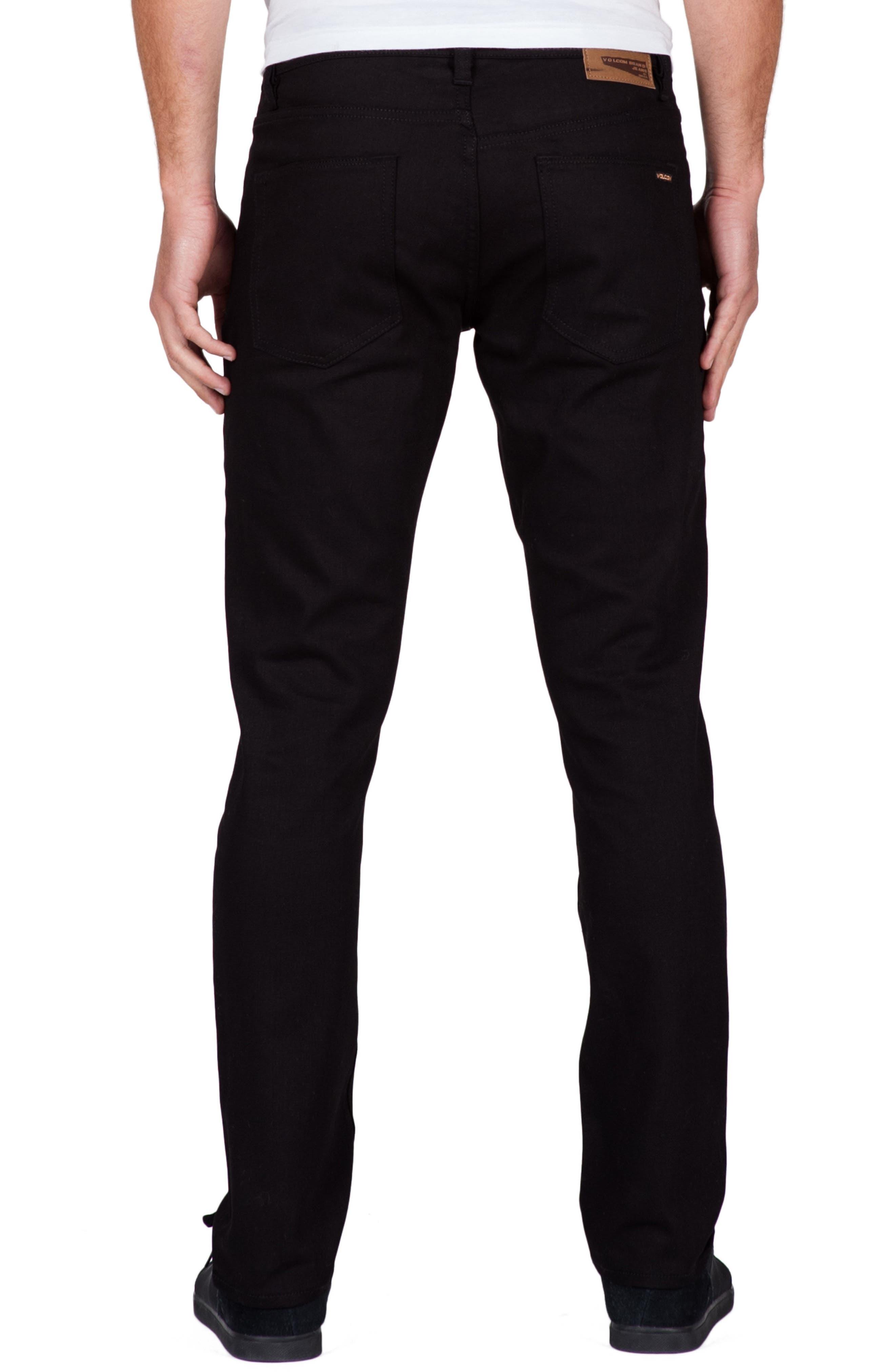 Alternate Image 2  - Volcom Vorta Slim Fit Jeans