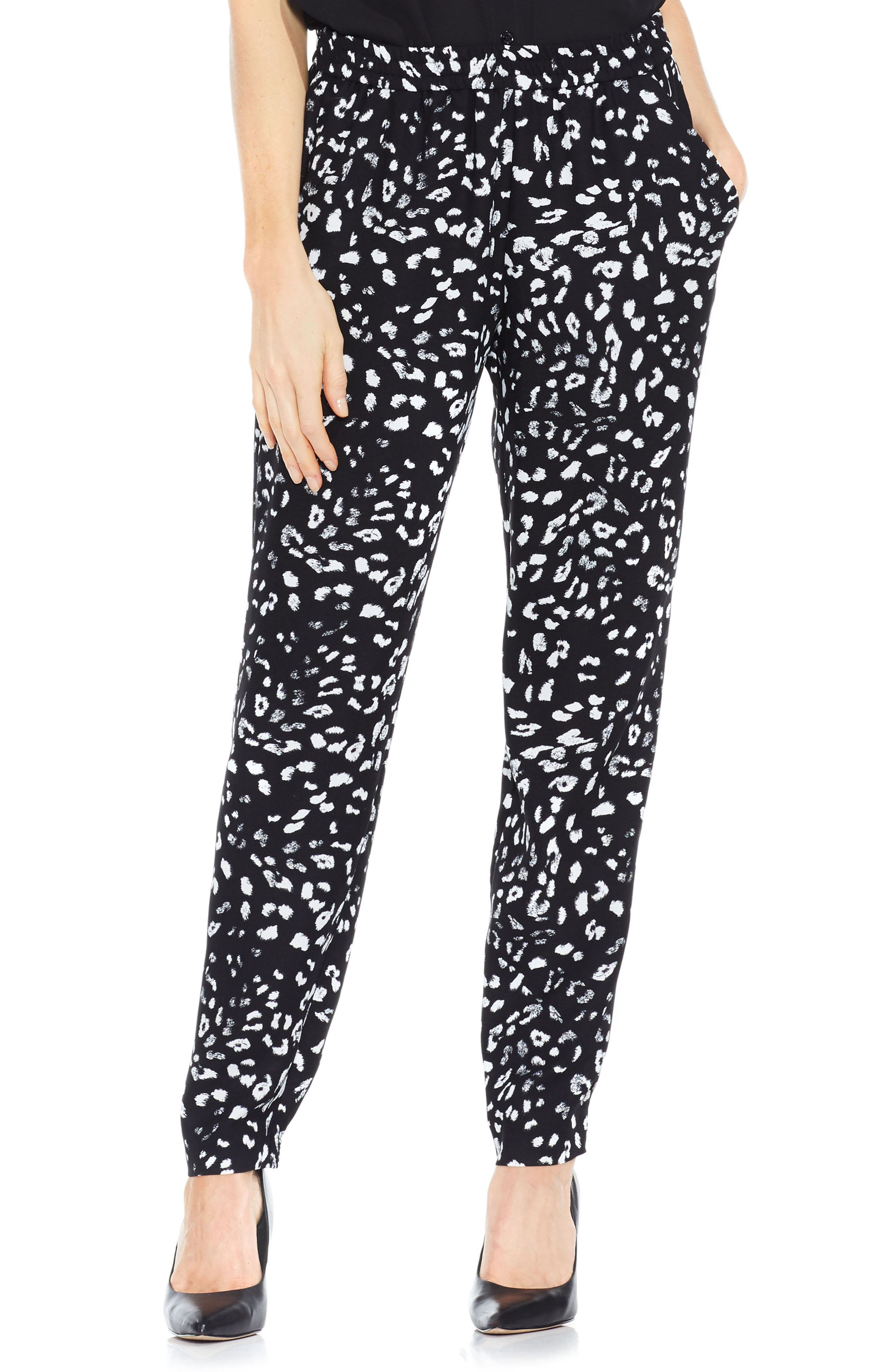 Main Image - Vince Camuto Animal Whispers Jogger Pants