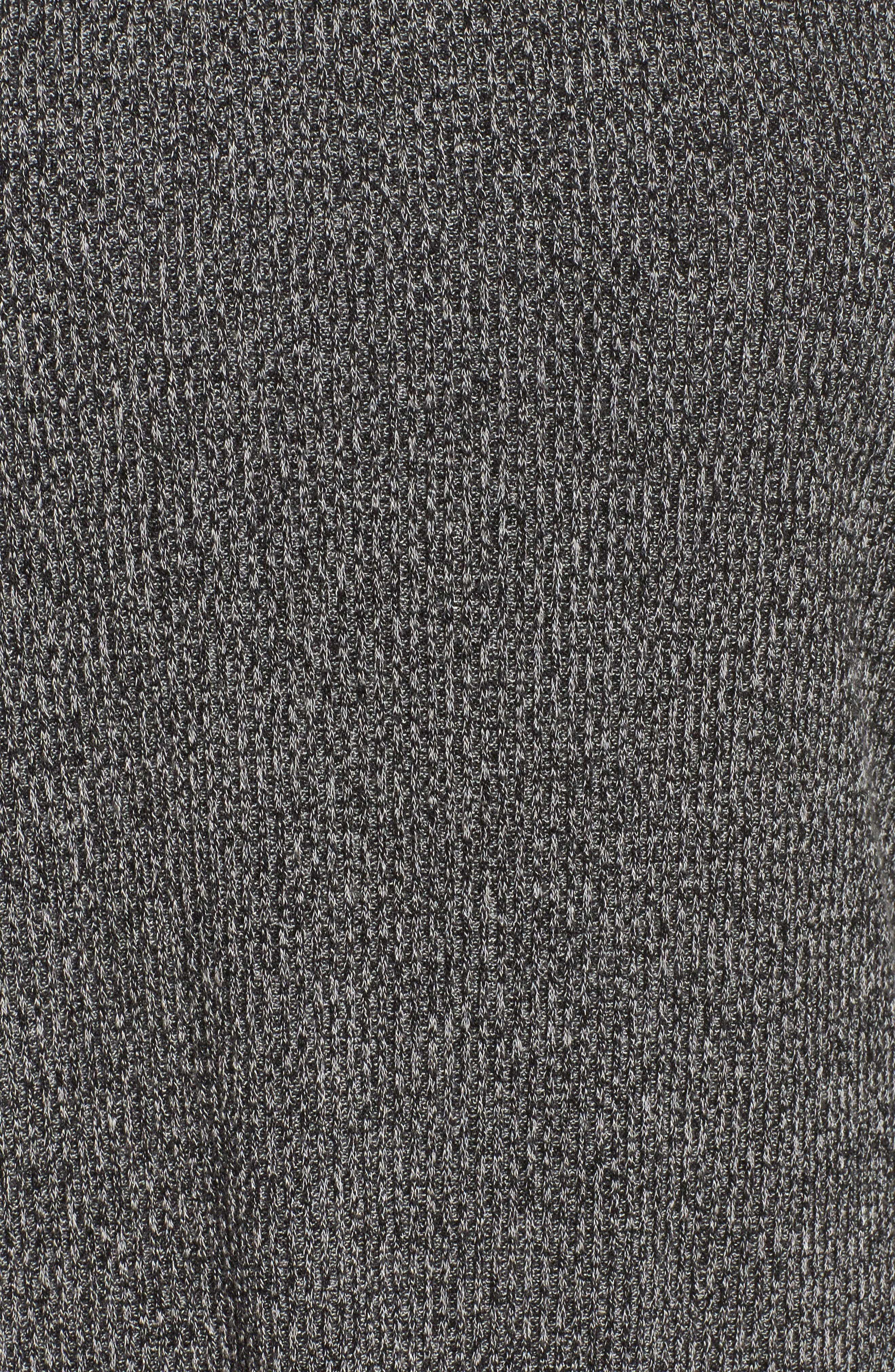 Don't Sweat It Sweater,                             Alternate thumbnail 7, color,                             Black Heather