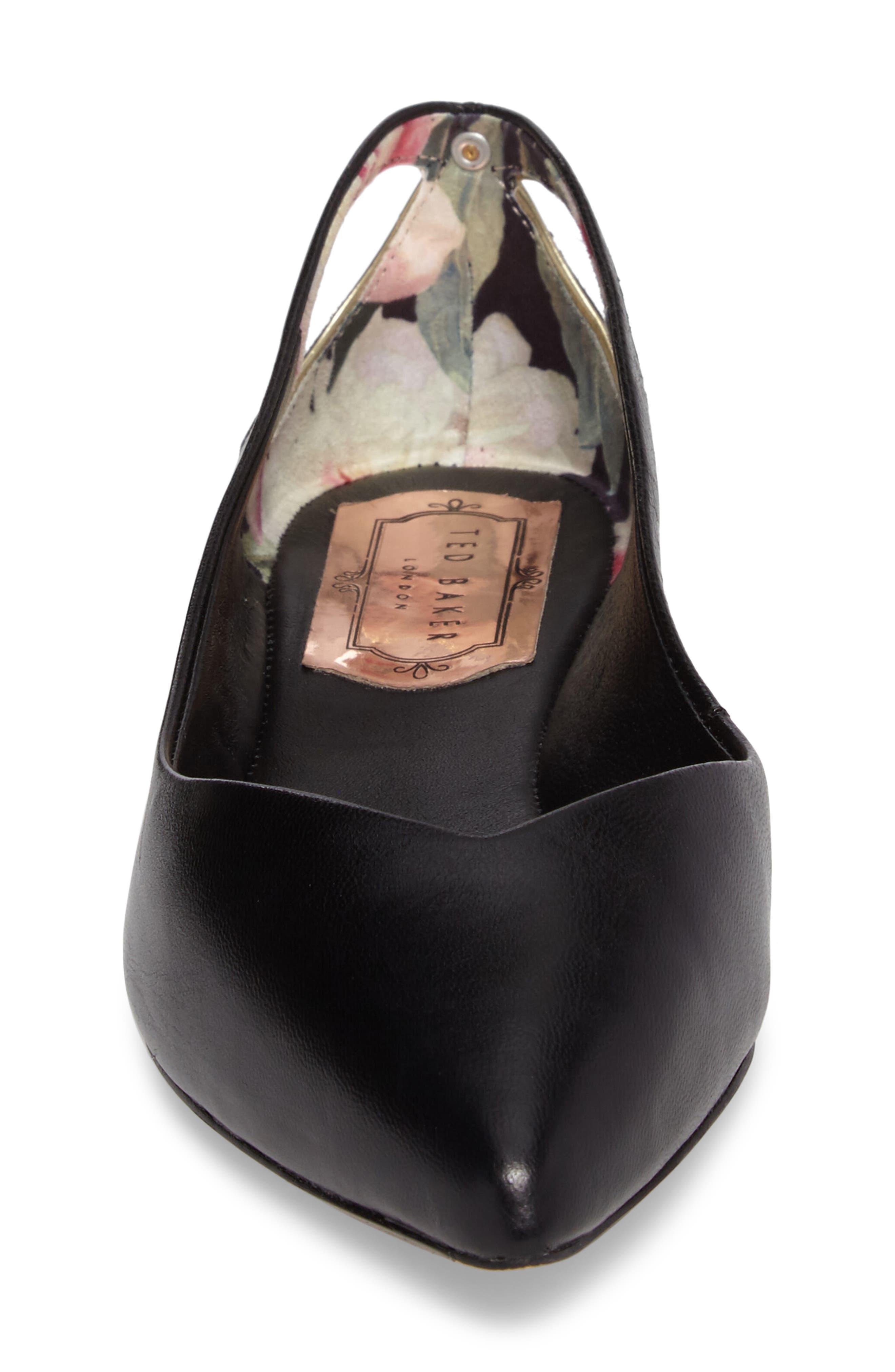 Alternate Image 4  - Ted Baker London Dabih Pointy Toe Flat (Women)