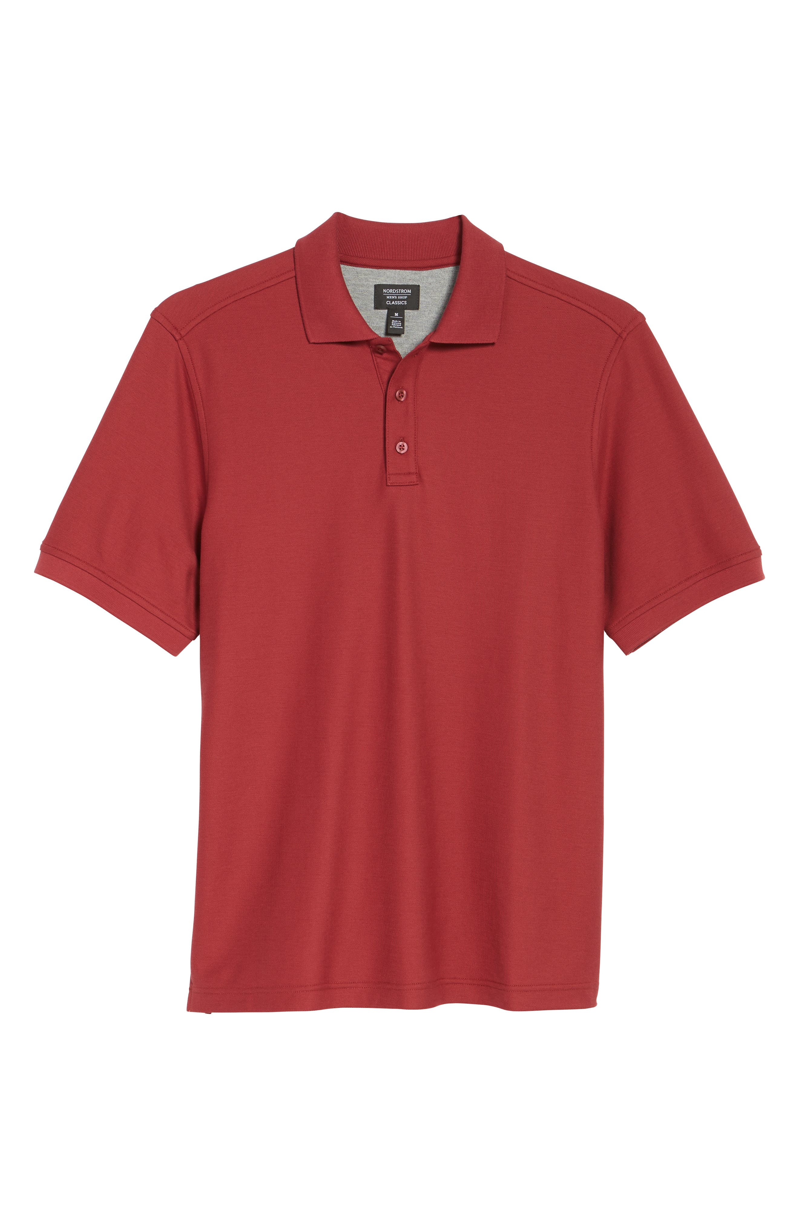Alternate Image 6  - Nordstrom Men's Shop 'Classic' Regular Fit Piqué Polo