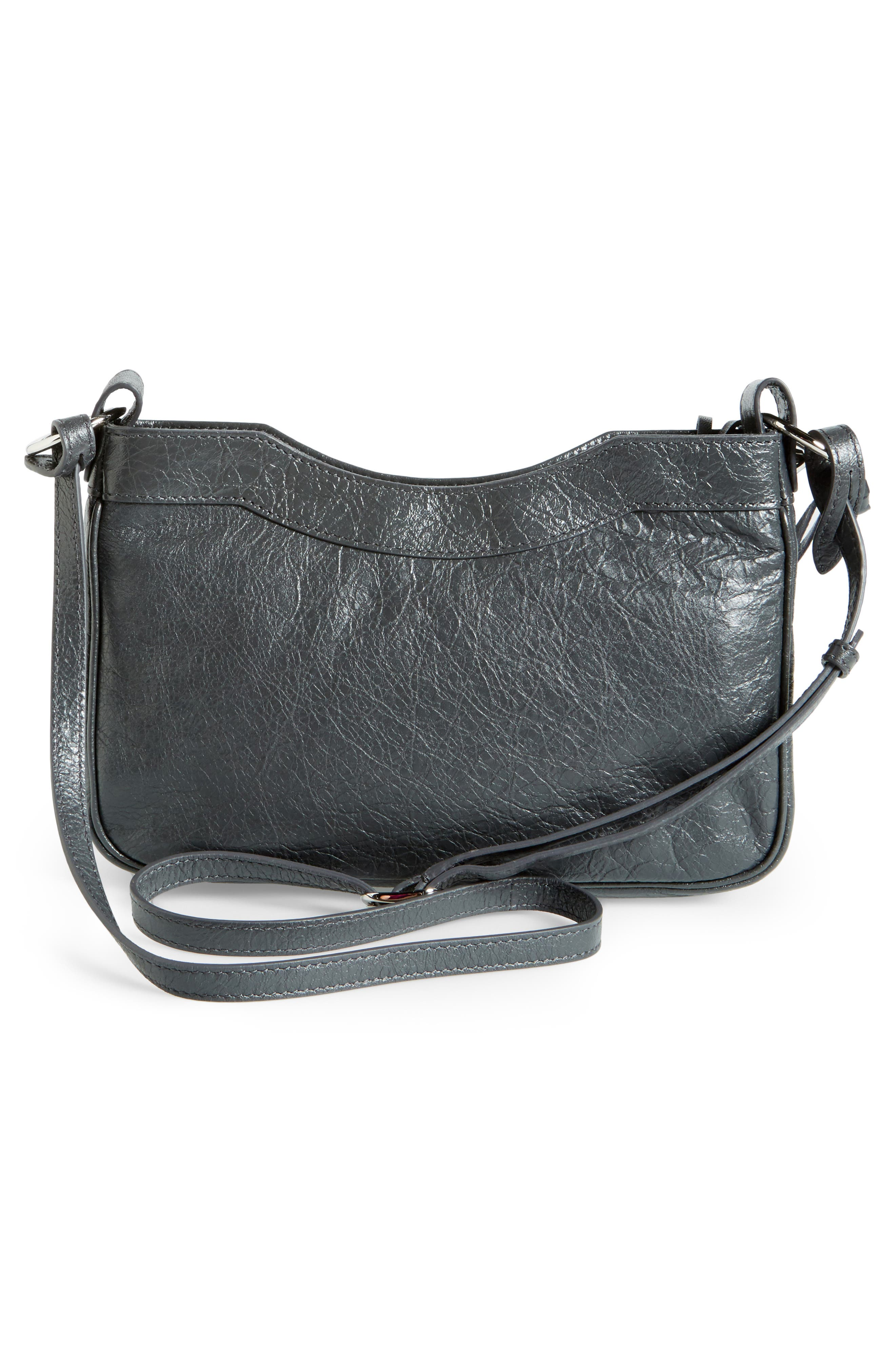 Alternate Image 3  - Balenciaga Hip Leather Crossbody Bag