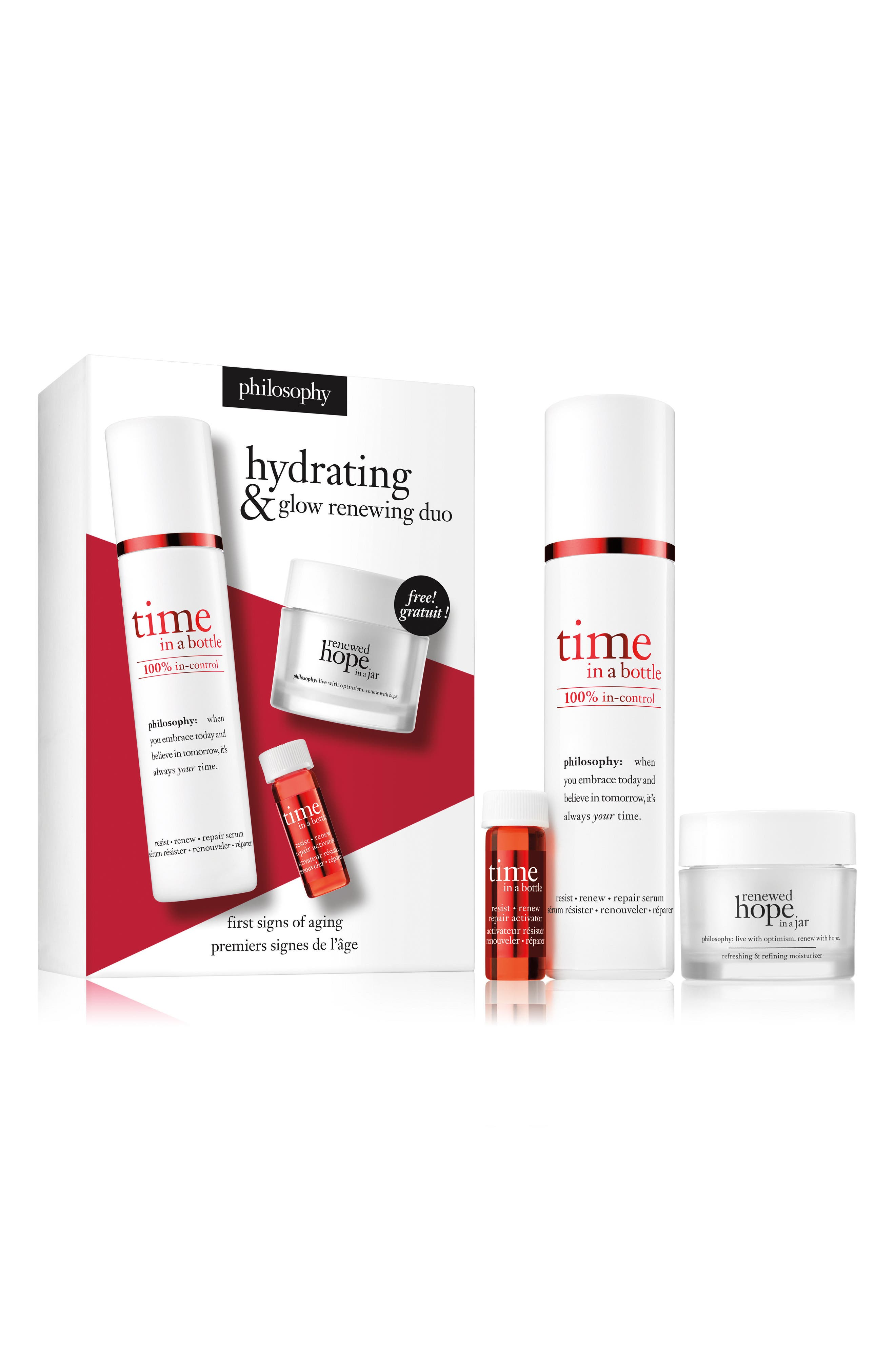 Main Image - philosophy hydrating & glow renewing duo ($90 Value)