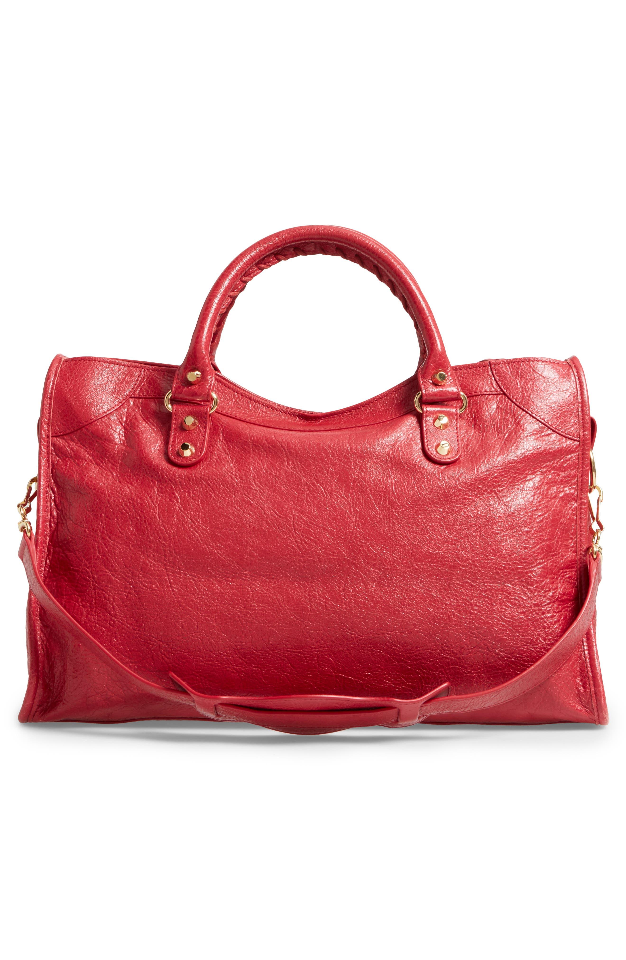 Classic City Bag,                             Alternate thumbnail 3, color,                             6270 Rouge Saffron/Dk Sang