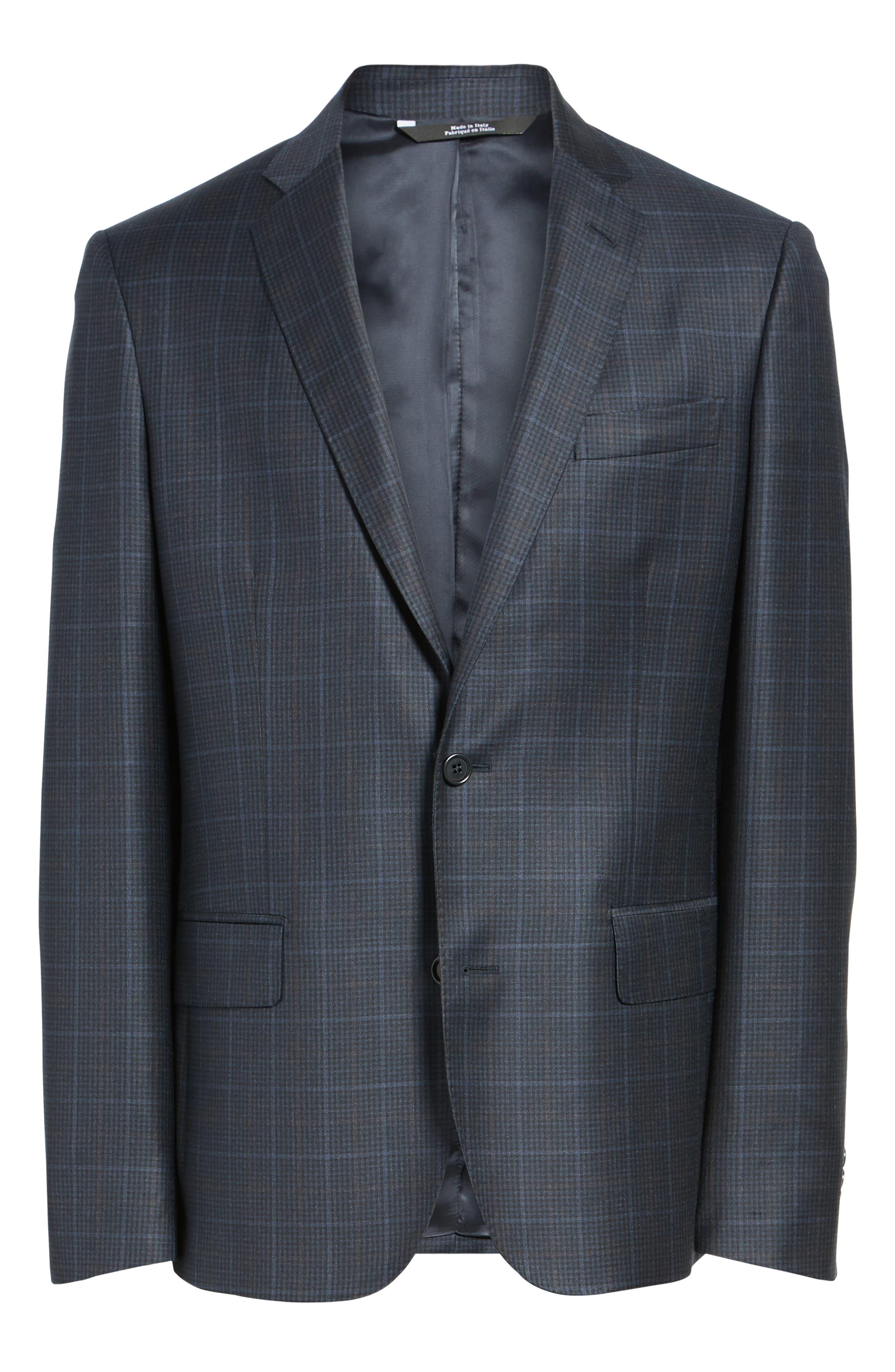 Alternate Image 6  - Nordstrom Men's Shop Classic Fit Plaid Wool Sport Coat