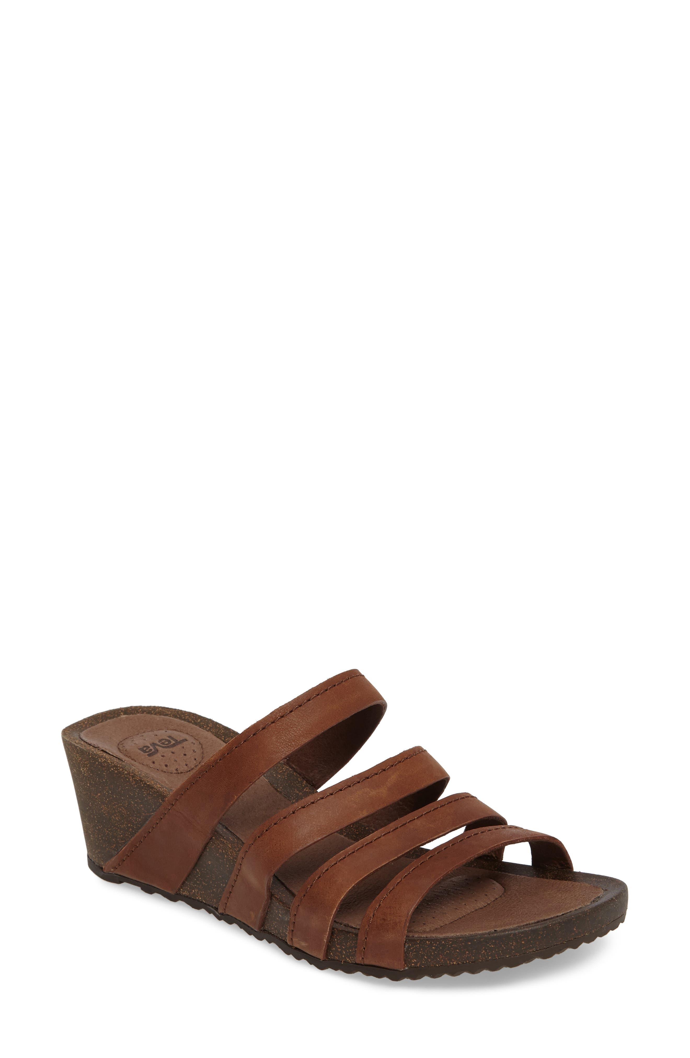 TEVA Ysidro Wedge Slide Sandal