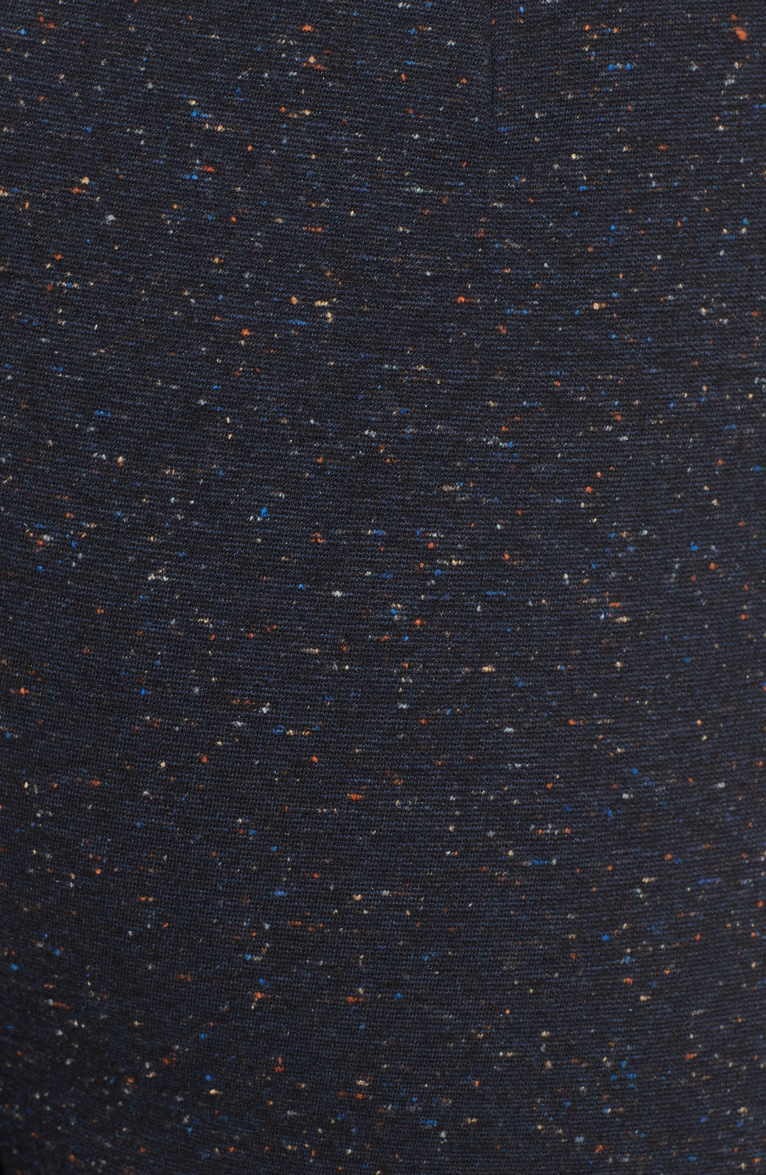 Imogen Tweedy Nerd Crop Pants,                             Alternate thumbnail 6, color,                             Navy