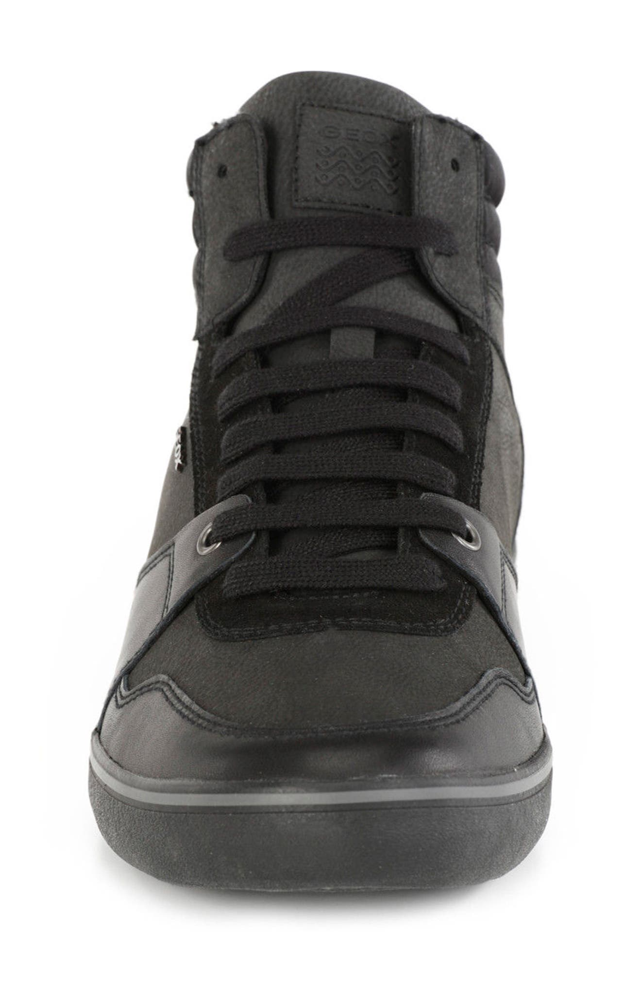 Box 31 High Top Sneaker,                             Alternate thumbnail 4, color,                             Black