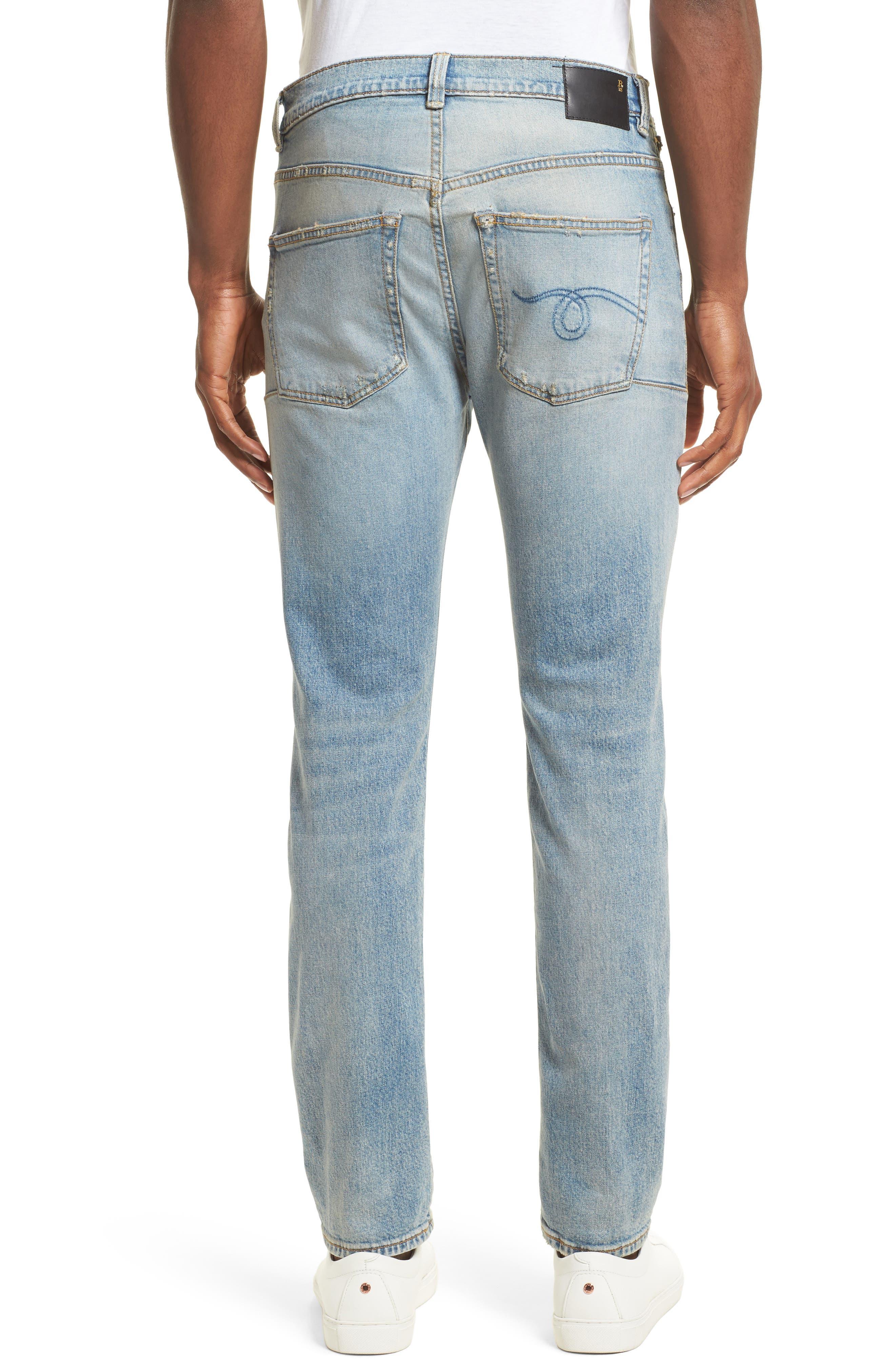 Alternate Image 2  - R13 Boy Clean Jeans (Leyton)