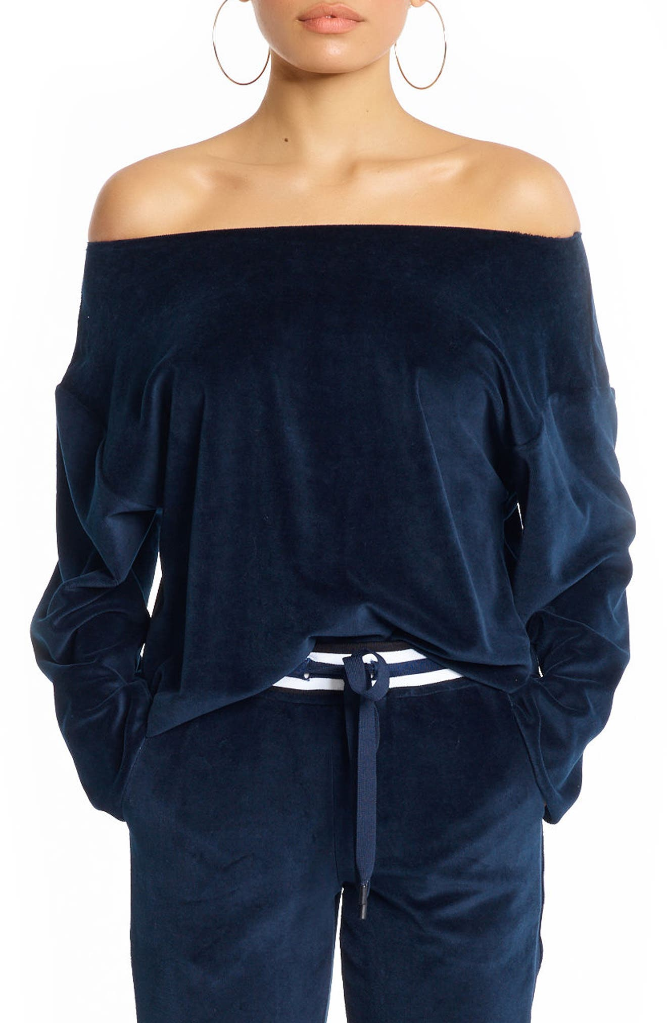 Main Image - KENDALL + KYLIE Off the Shoulder Top