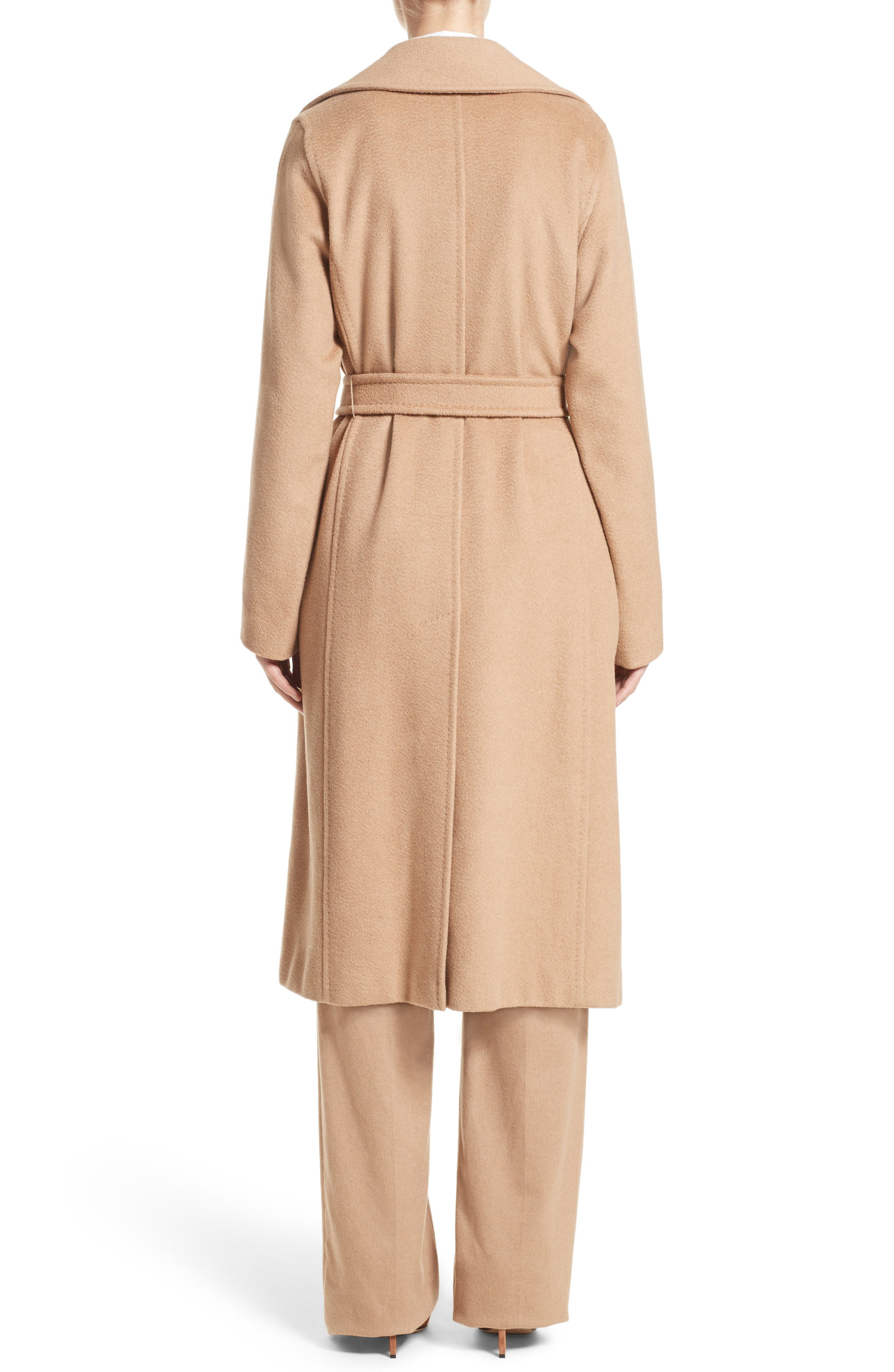 Alternate Image 2  - Max Mara 'Manuela' Camel Hair Coat