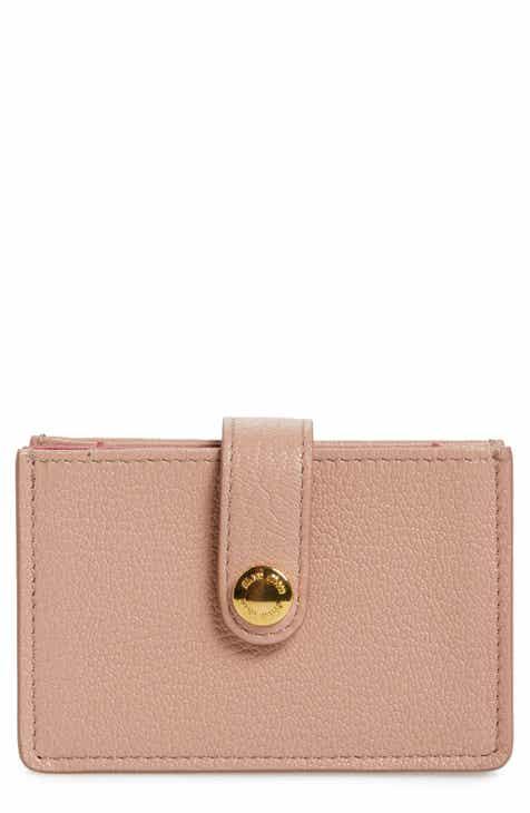 7b7464719013 Miu Miu Madras Accordion Leather Card Case