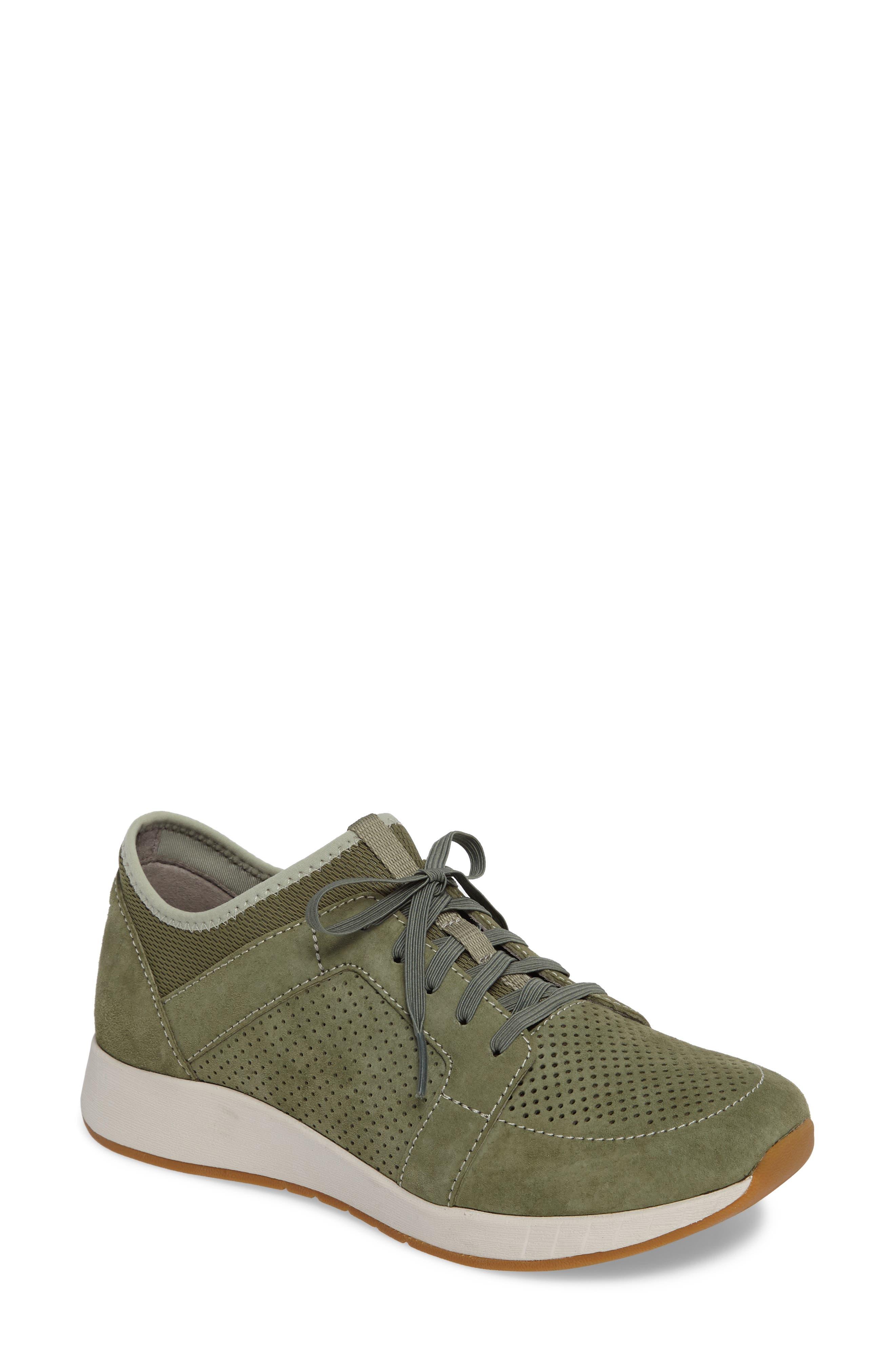 Cozette Slip-On Sneaker,                             Main thumbnail 1, color,                             Sage Suede