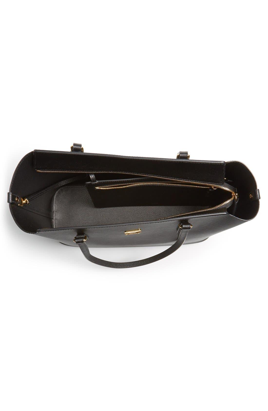 Alternate Image 3  - MCM 'Medium Project' Saffiano Leather Shopper