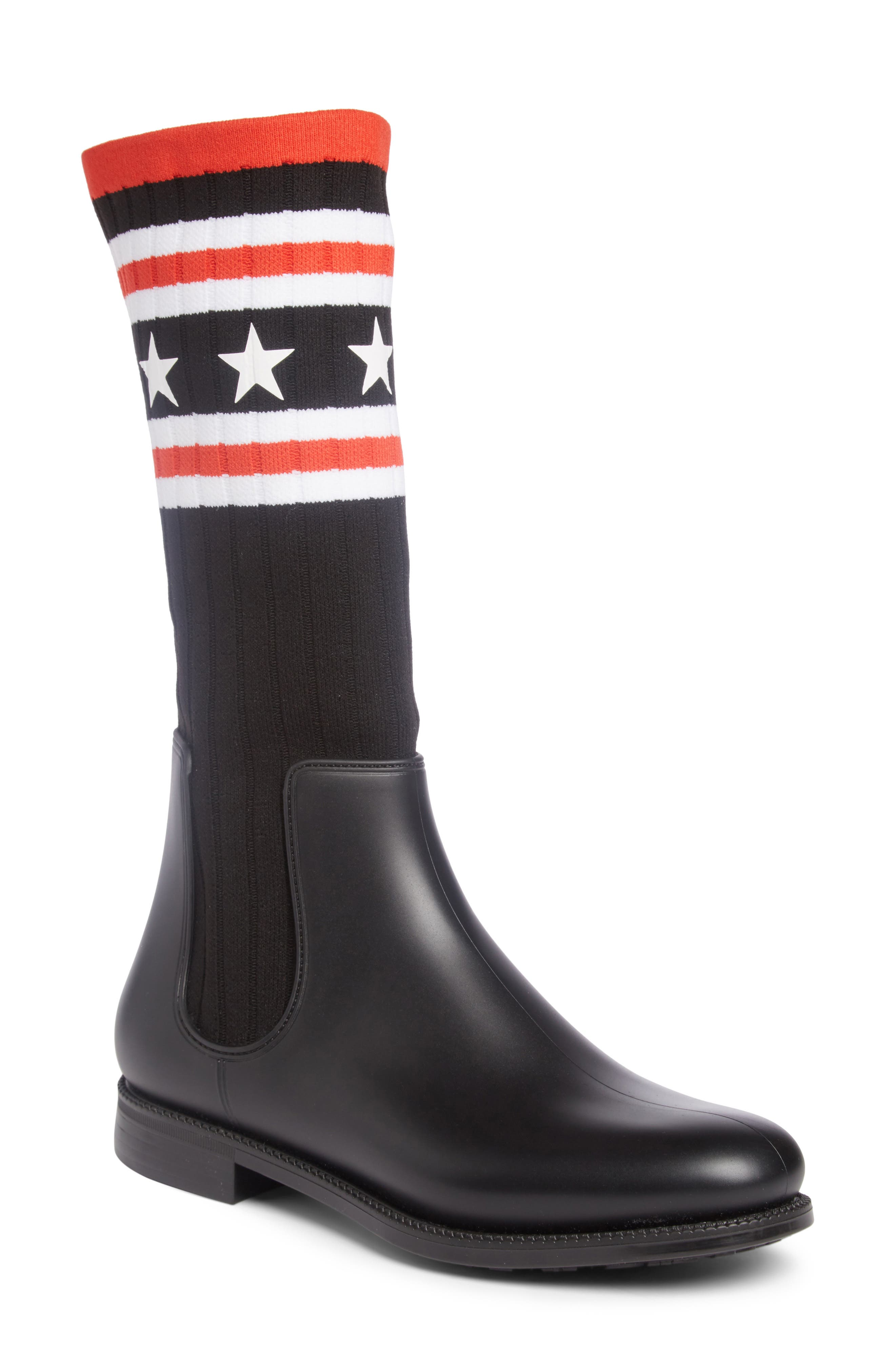 Alternate Image 1 Selected - Givenchy Storm Chelsea Sock Boot (Women)