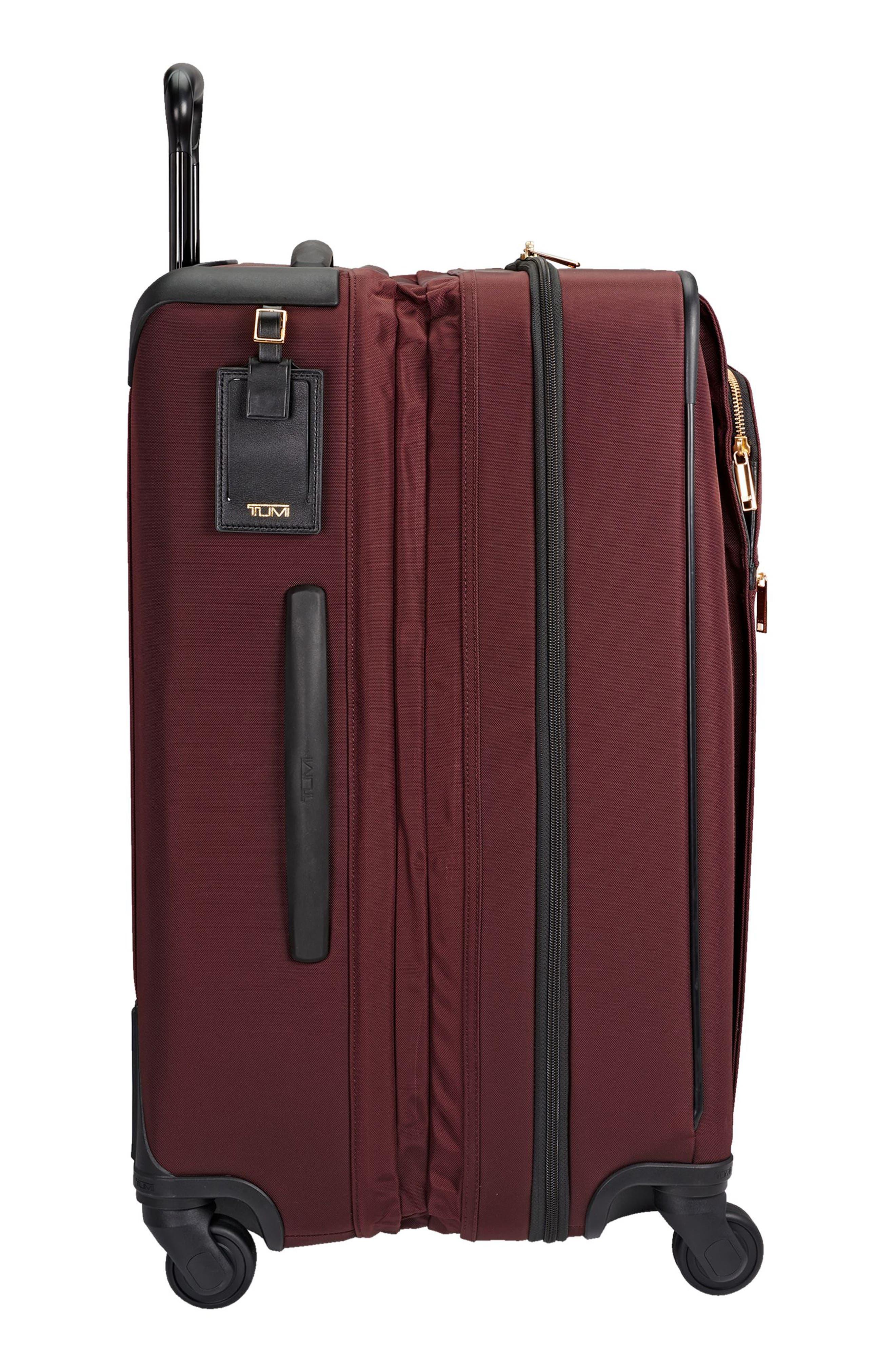 Jess Short Trip Expandable 26-Inch 4-Wheel Suitcase,                             Alternate thumbnail 6, color,                             Bordeaux