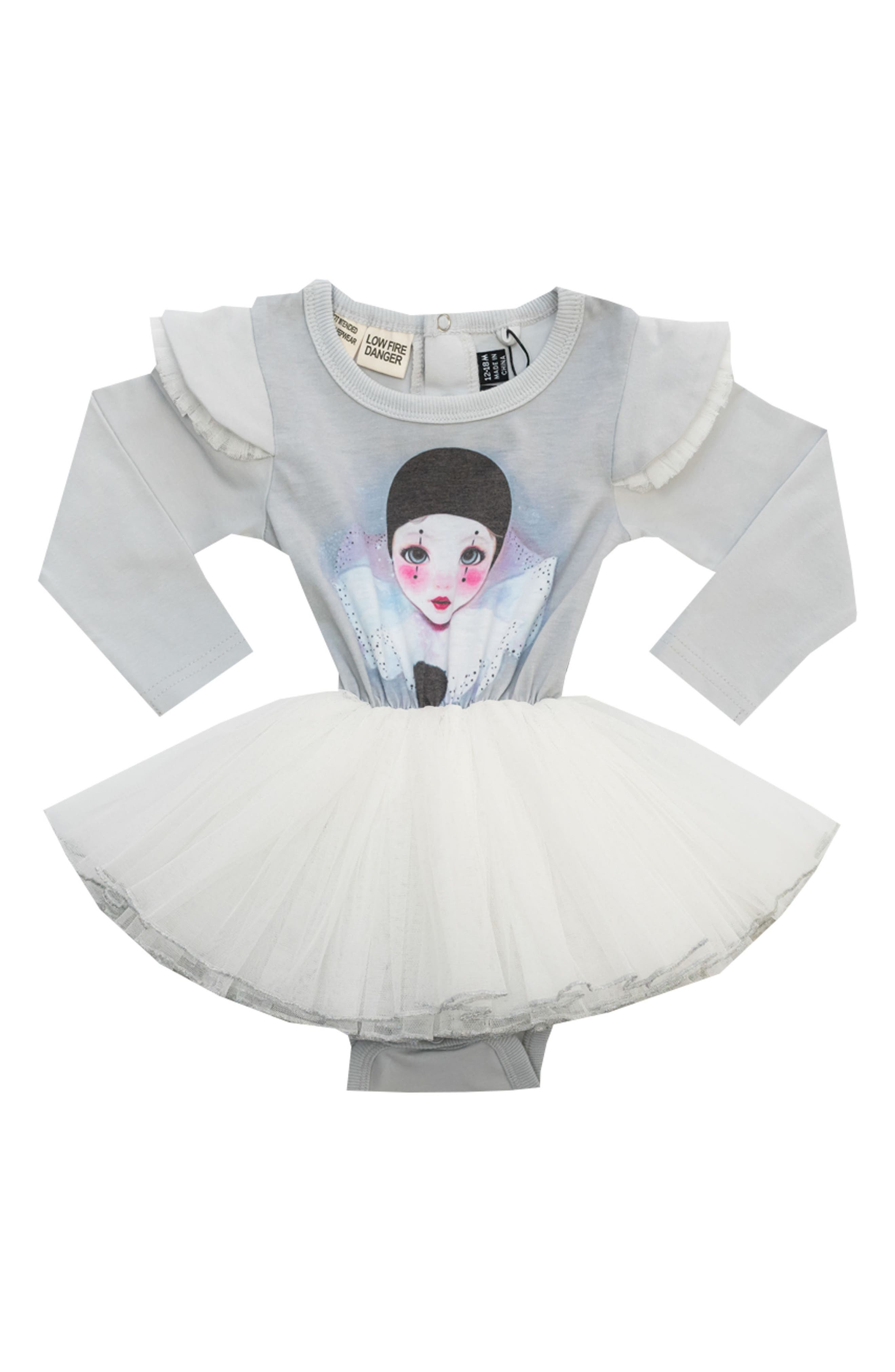 Main Image - Rock Your Baby Dance It Out Circus Tutu Bodysuit (Baby)