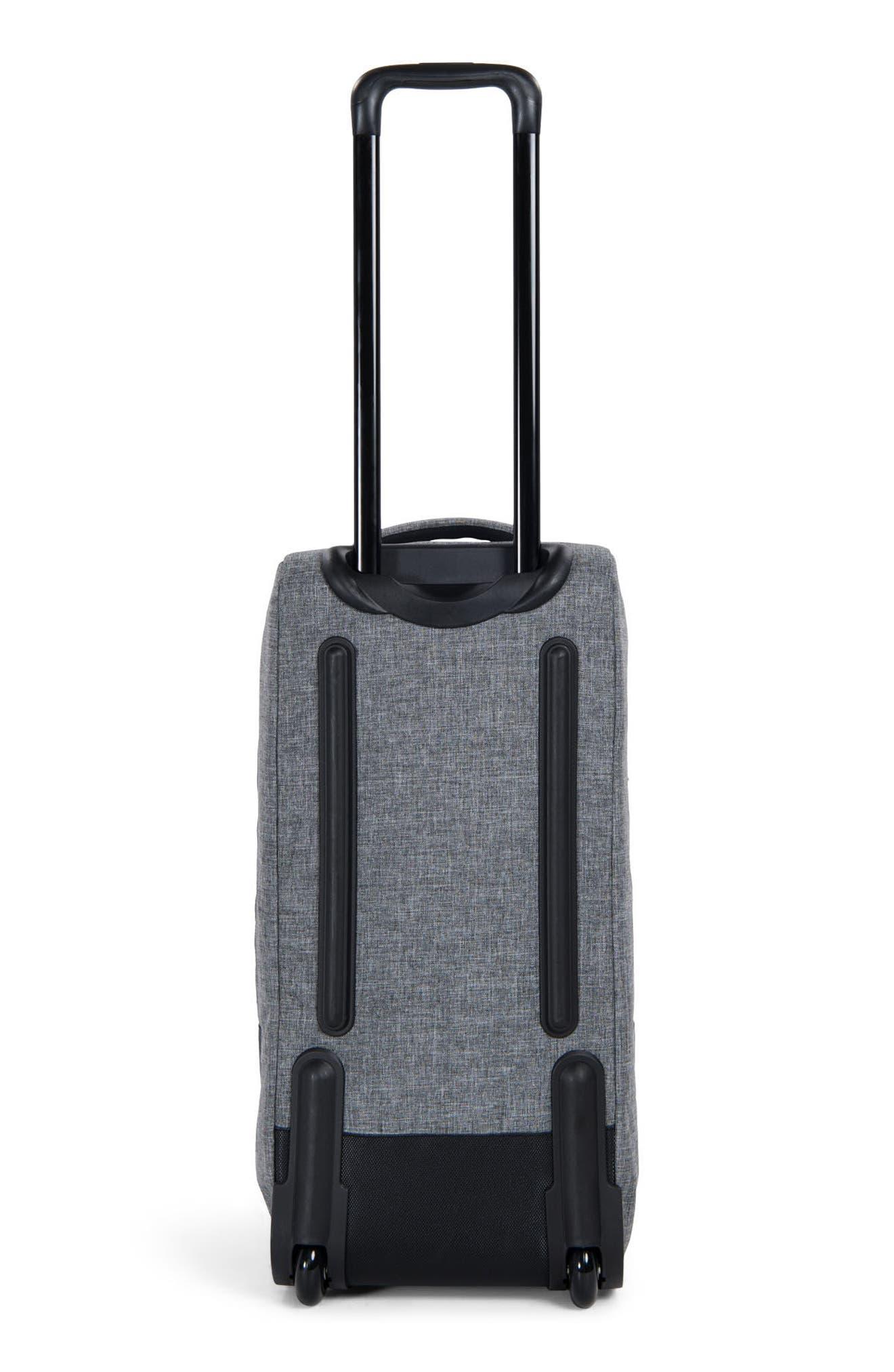 Wheelie Outfitter 24-Inch Duffel Bag,                             Alternate thumbnail 4, color,                             Raven Crosshatch