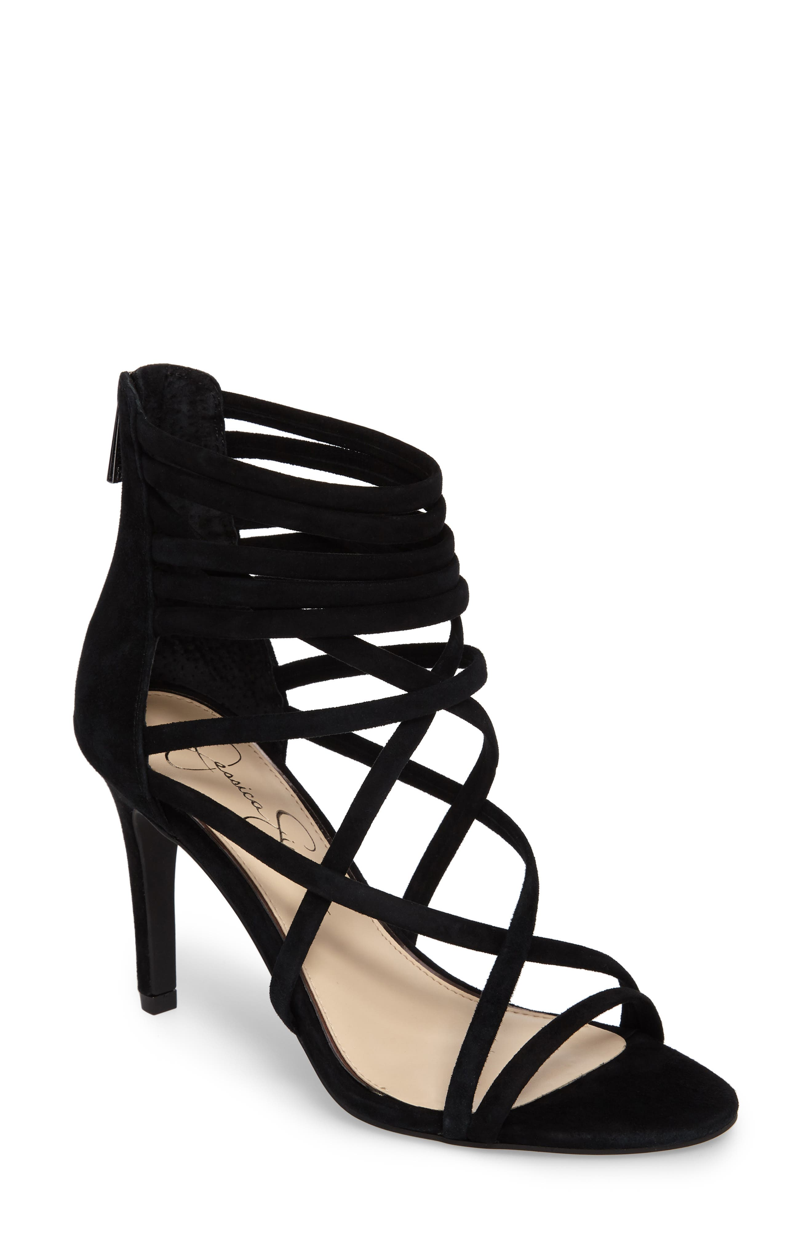 Harmoni Sandal,                         Main,                         color, Black