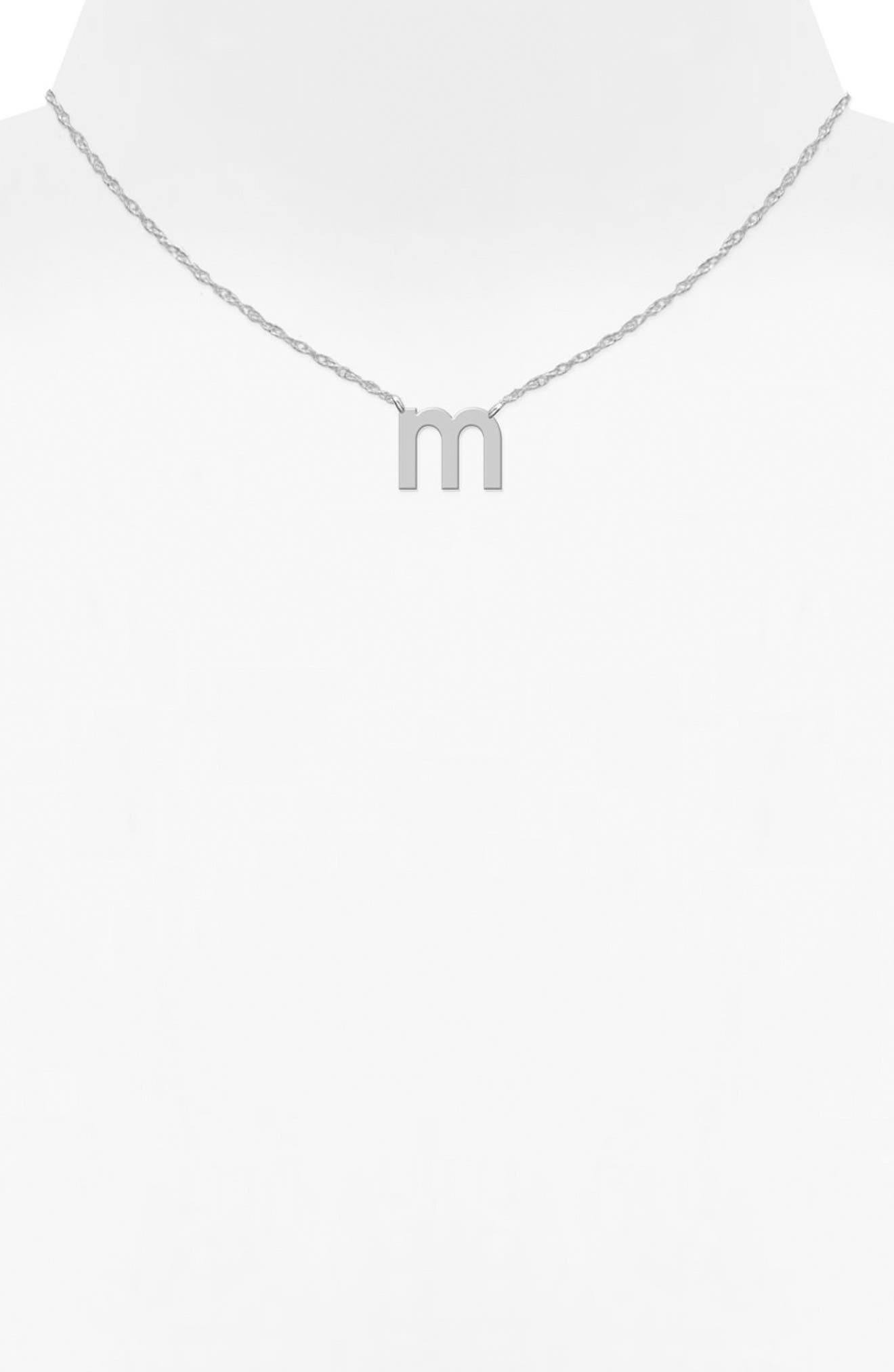 Alternate Image 2  - Jane Basch Designs Initial Pendant Necklace