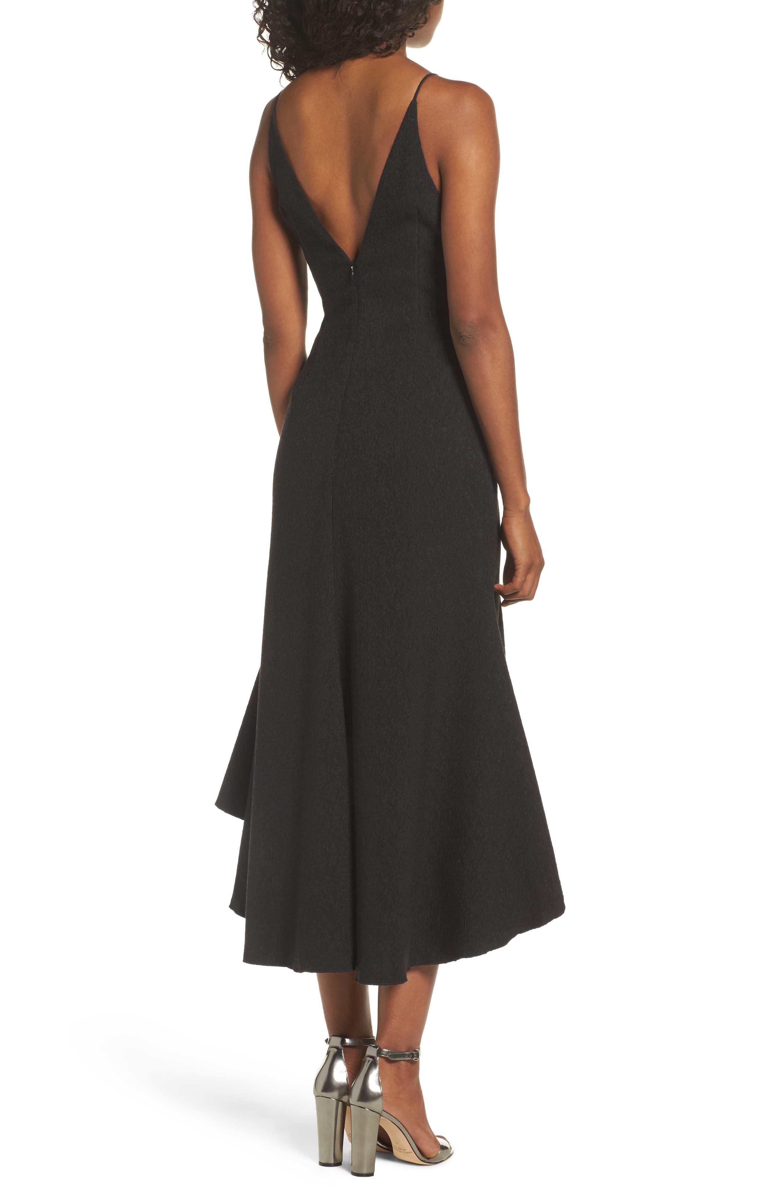 I Dream It Fit & Flare Dress,                             Alternate thumbnail 2, color,                             Black