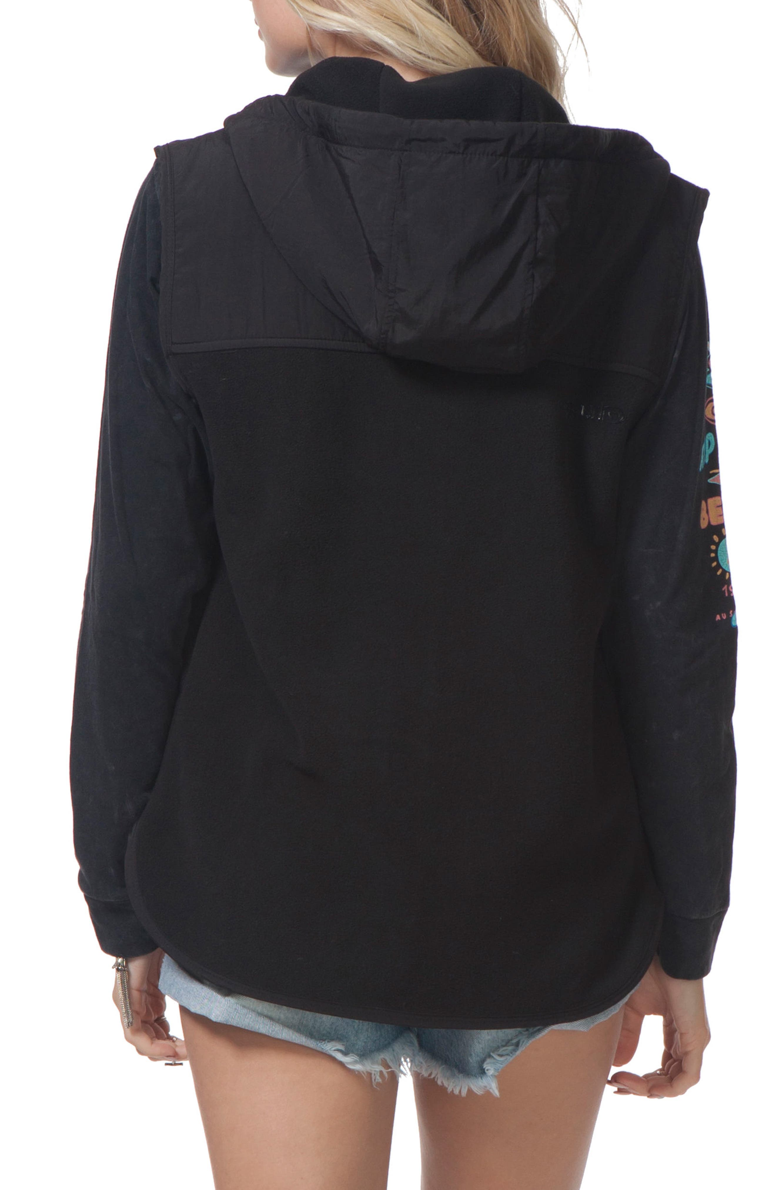 Alternate Image 2  - Rip Curl Bleaker Anti Series Hooded Vest