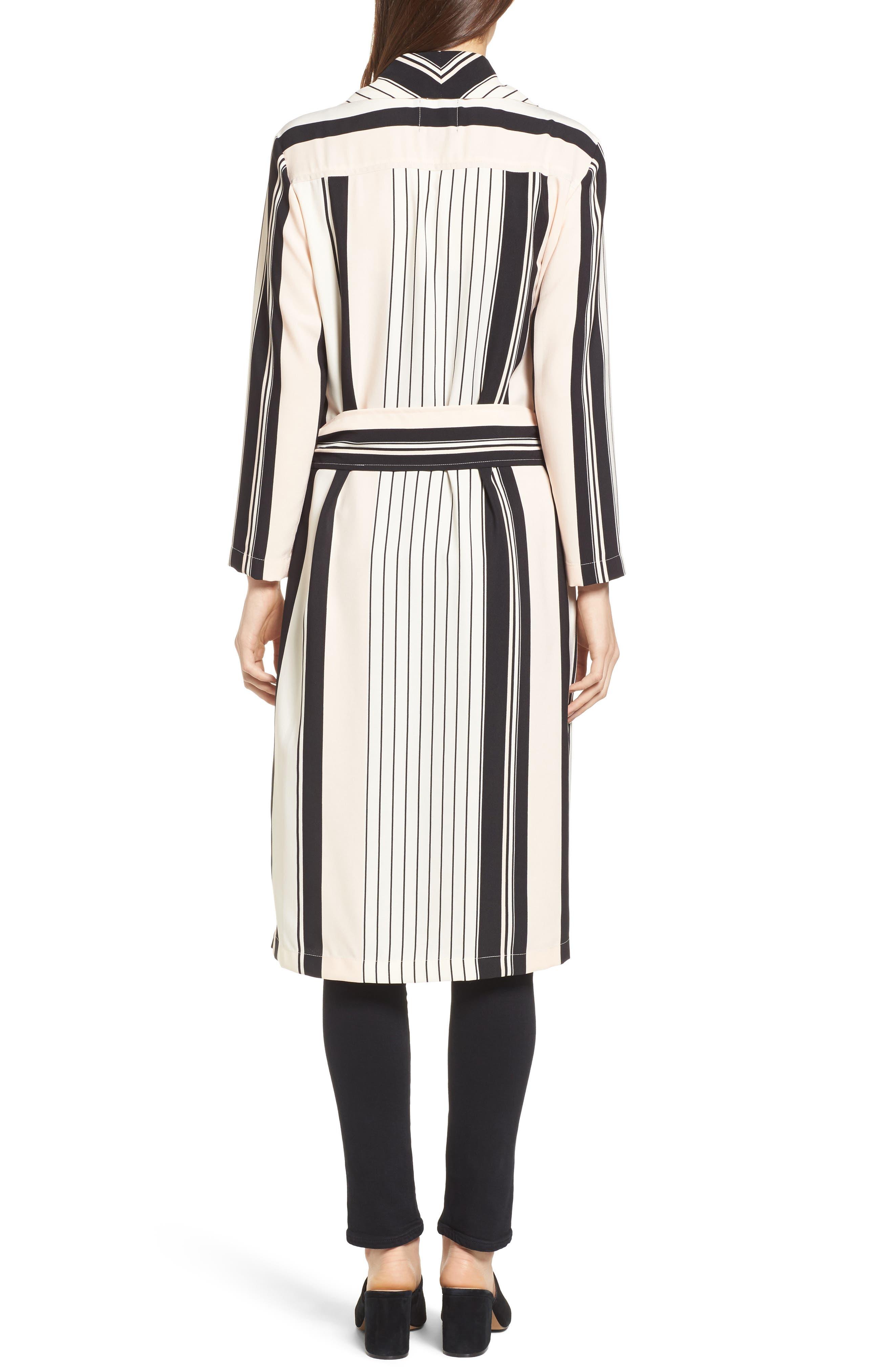Alternate Image 2  - Trouvé Stripe Longline Jacket