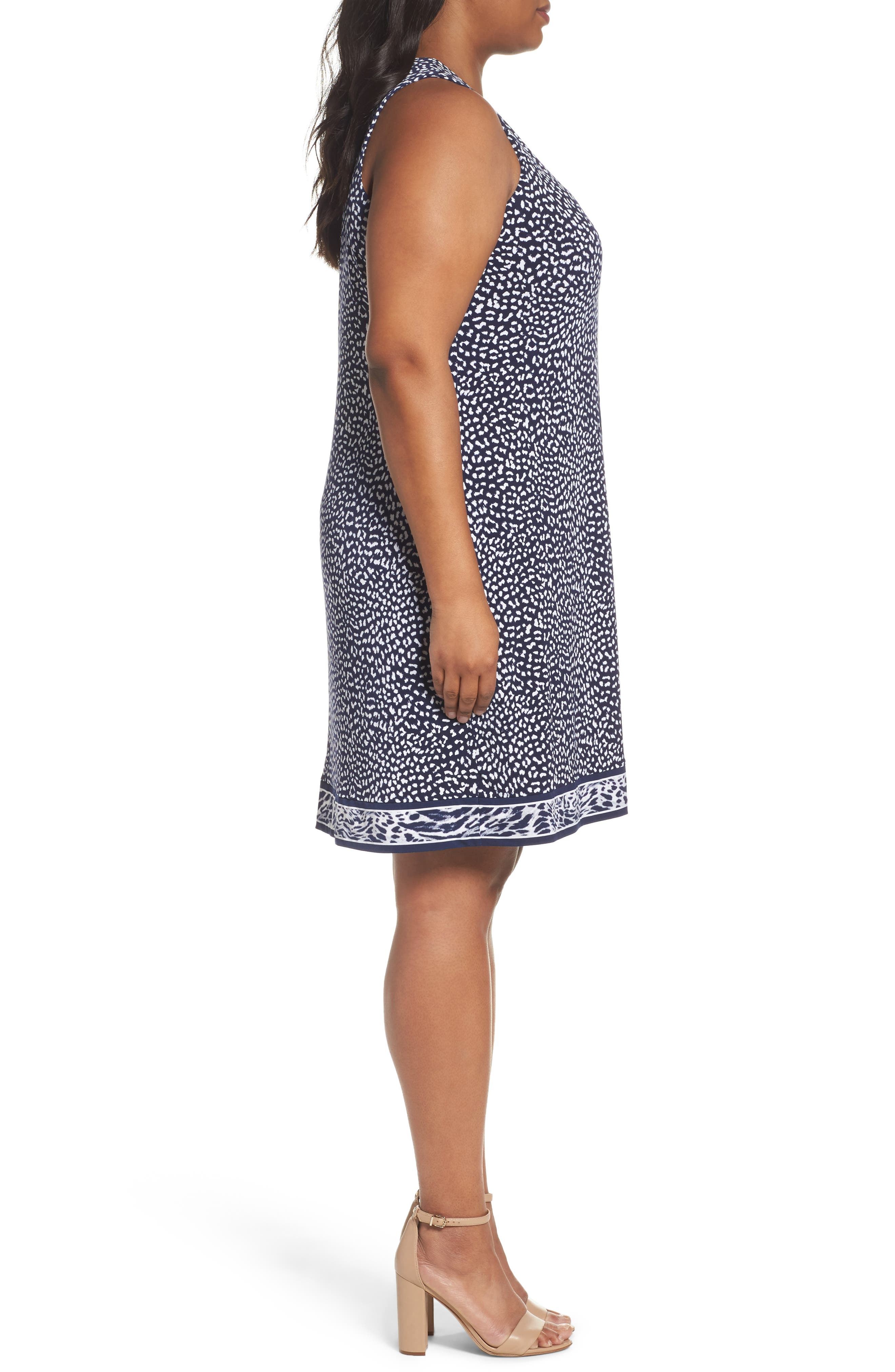 Alternate Image 3  - MICHAEL Michael Kors Animal Print Sheath Dress (Plus Size)