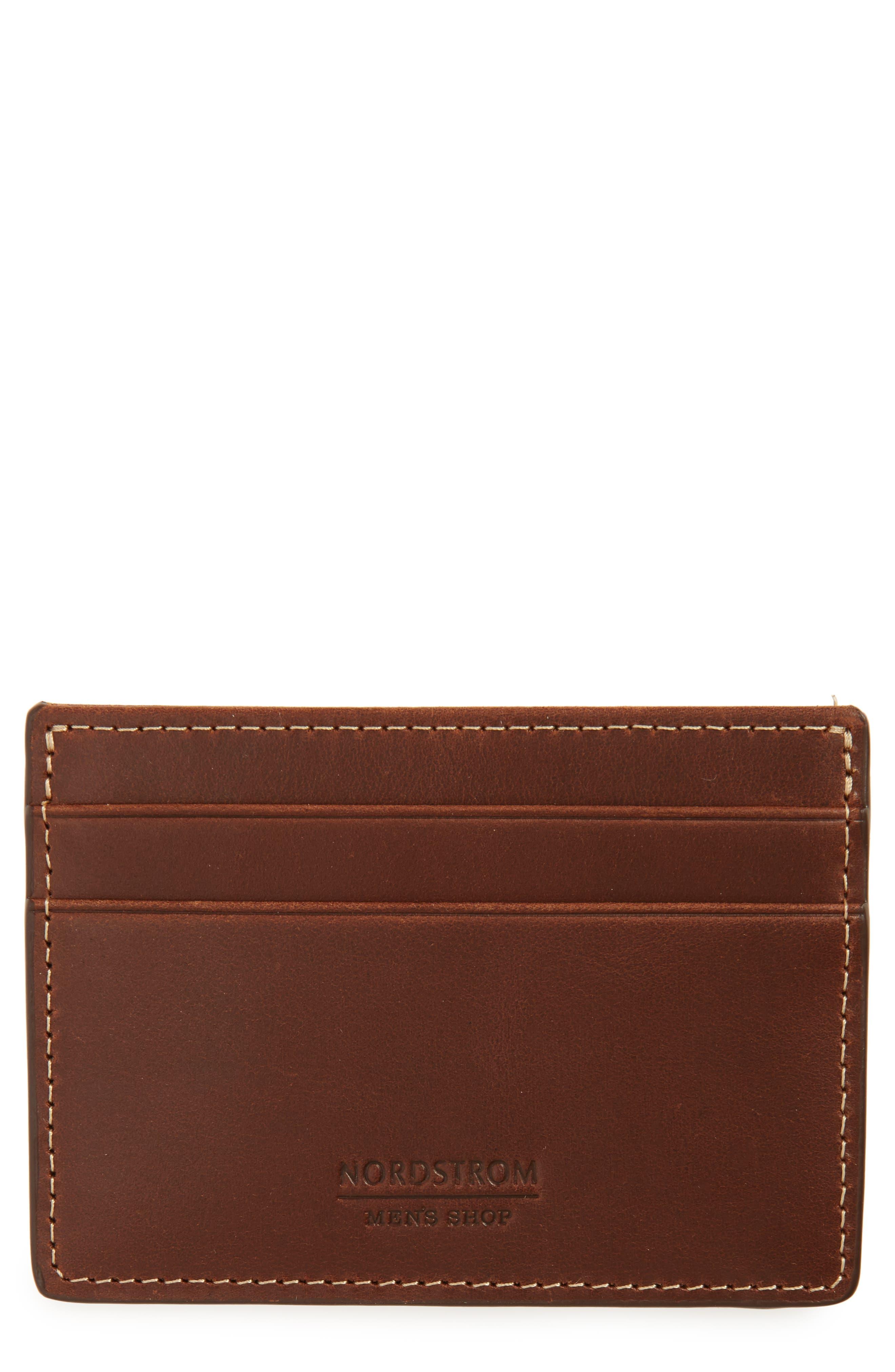 Card Case,                         Main,                         color, Brown Mahogany