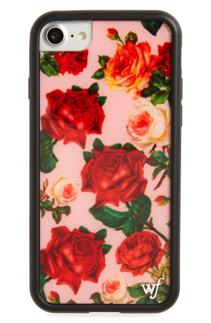 wildflower rose garden iphone 7 case nordstrom. Black Bedroom Furniture Sets. Home Design Ideas