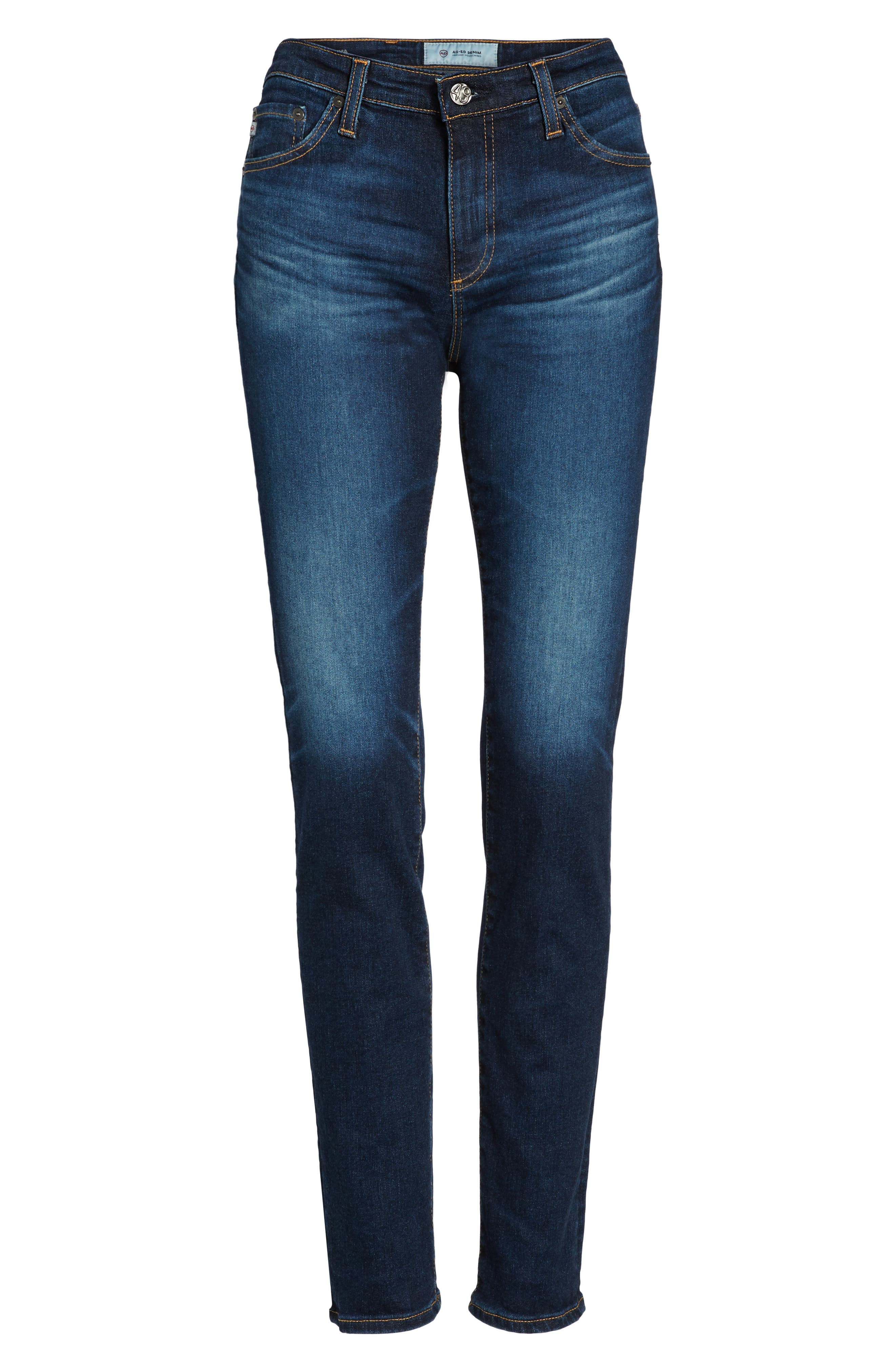 Alternate Image 6  - AG Prima Skinny Jeans (4 Year Rapids)