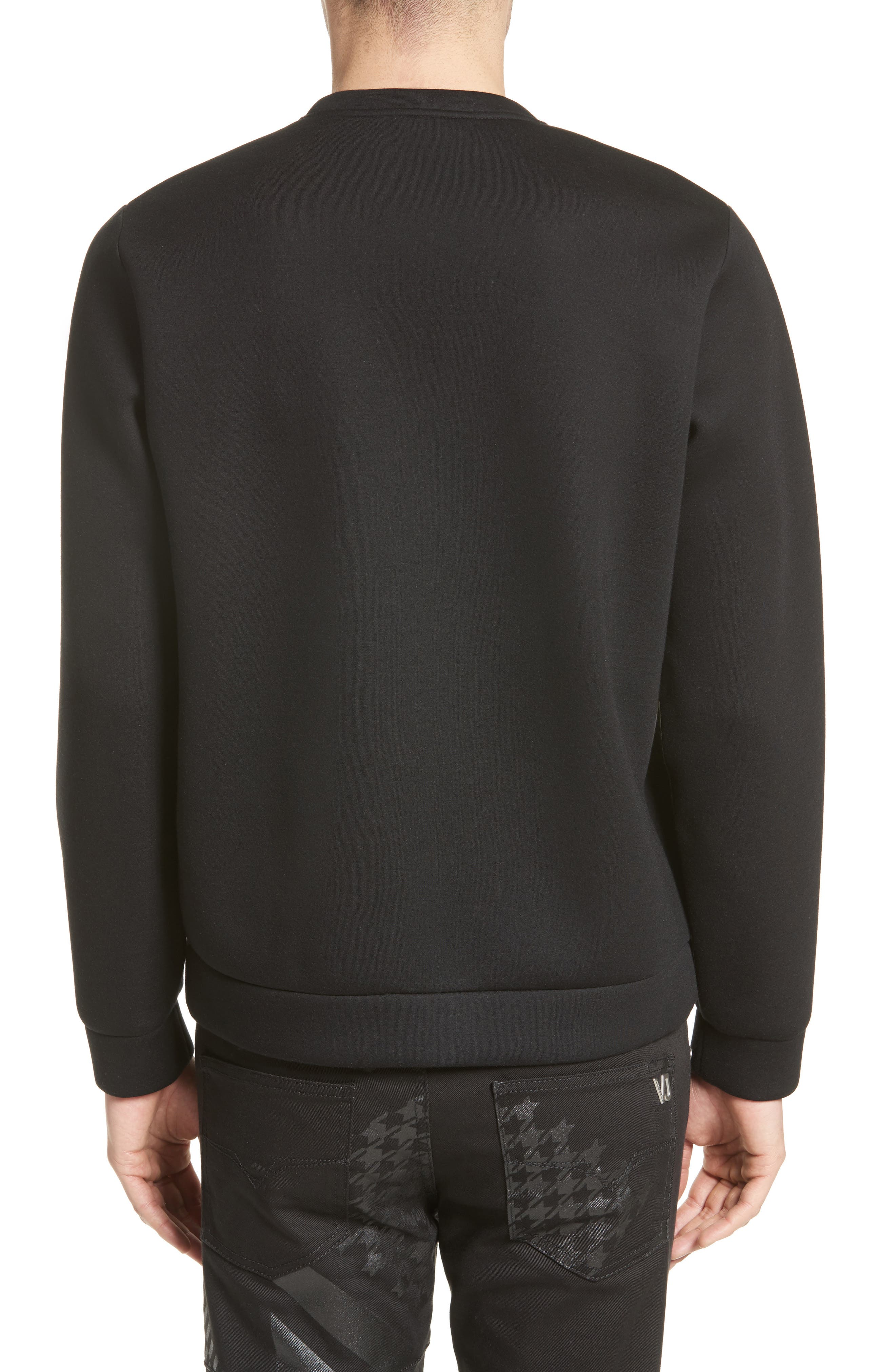 Alternate Image 2  - Versace Jeans Large Logo Sweatshirt