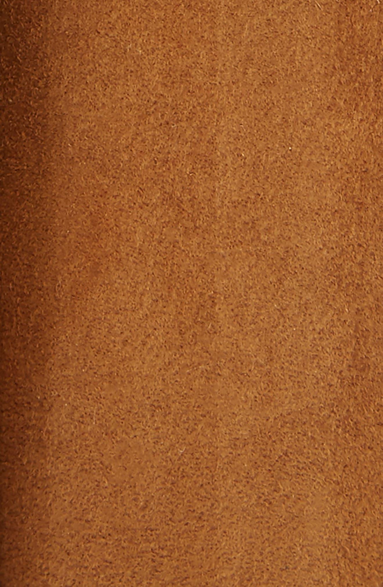 Ante Cabra Leather Belt,                             Alternate thumbnail 2, color,                             Cognac